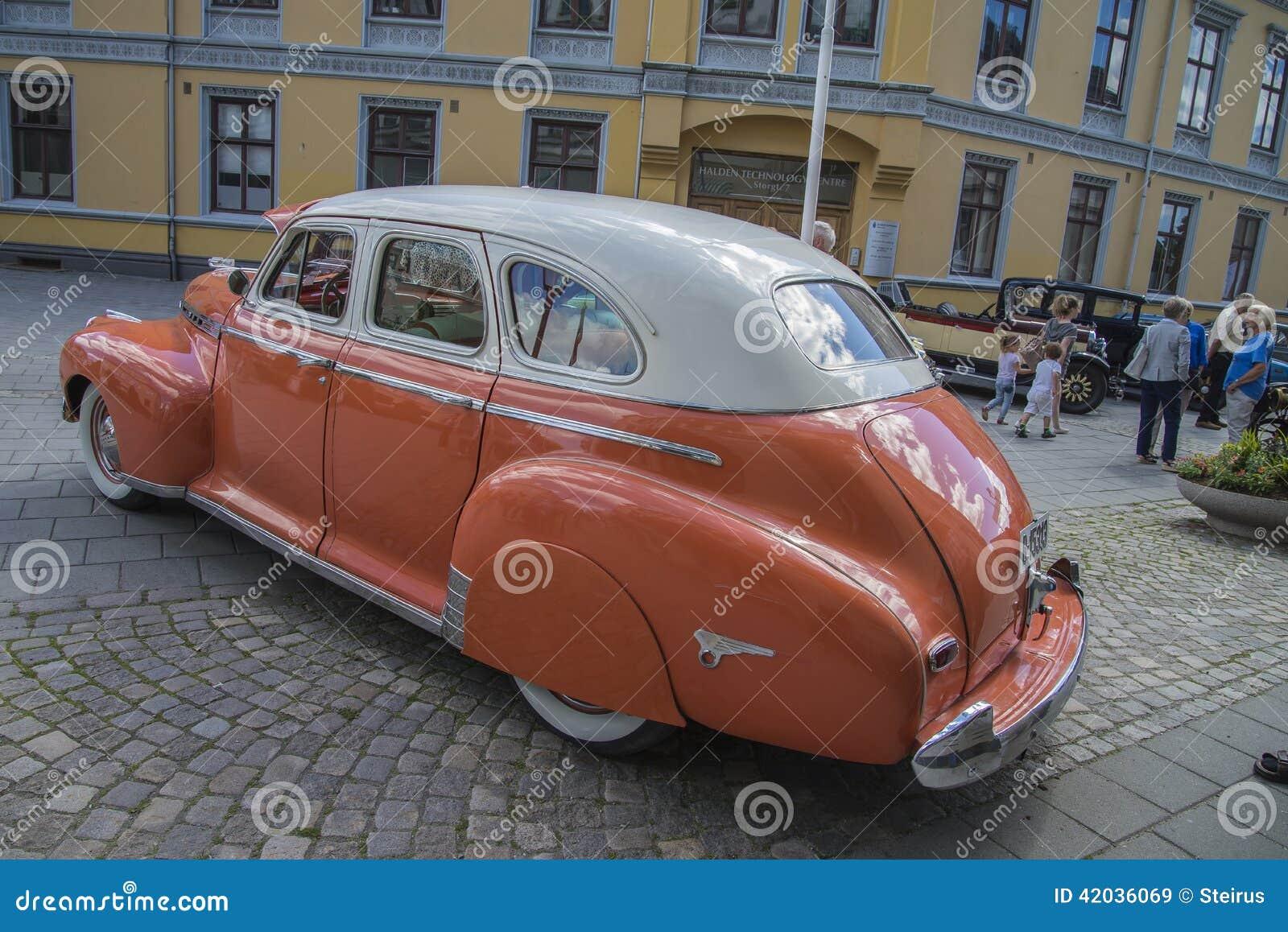 1941 Chevrolet Special Deluxe 4 Door Sedan Editorial Stock