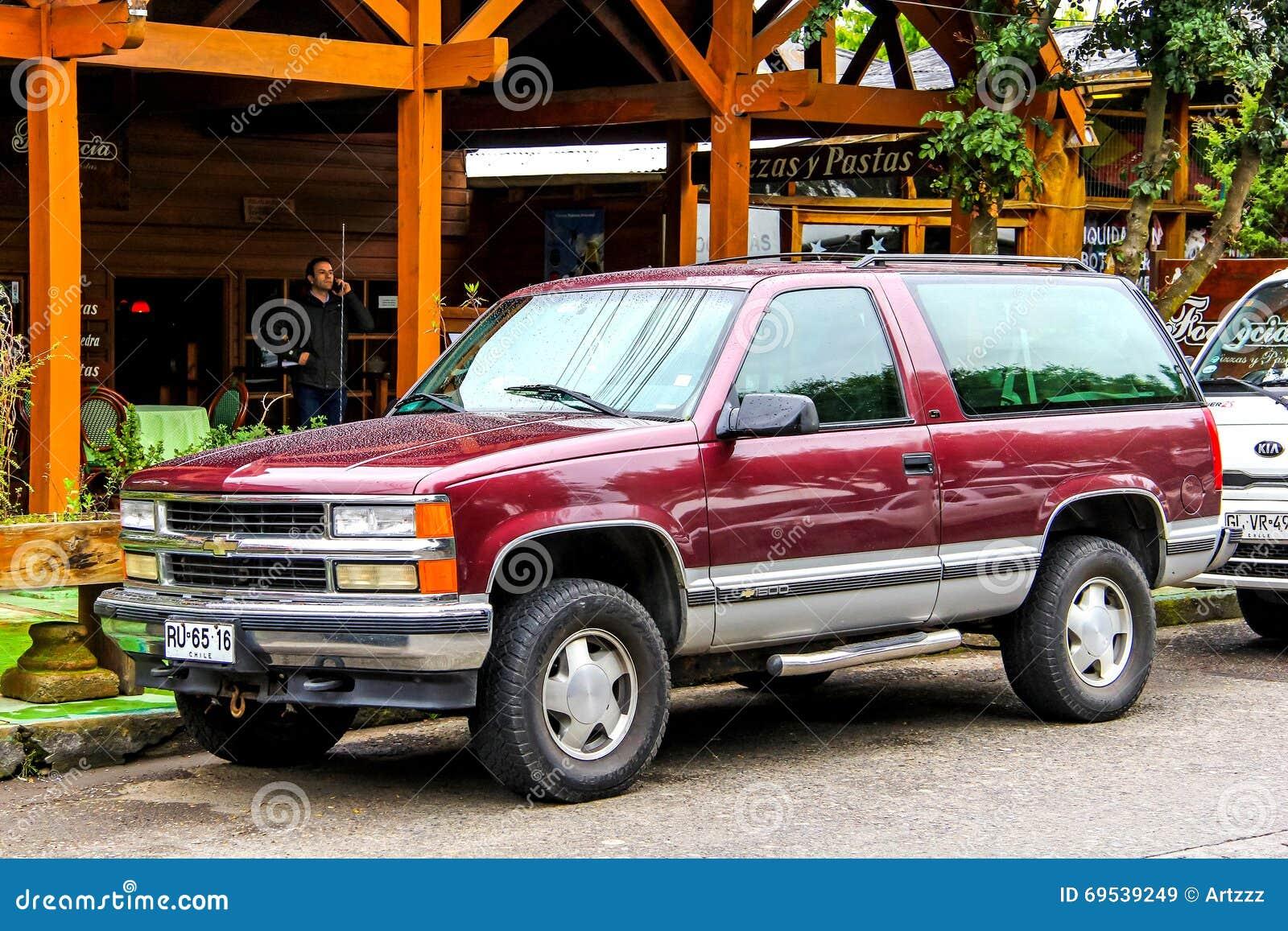 Chevrolet Tahoe Editorial Stock Image Image 69539249