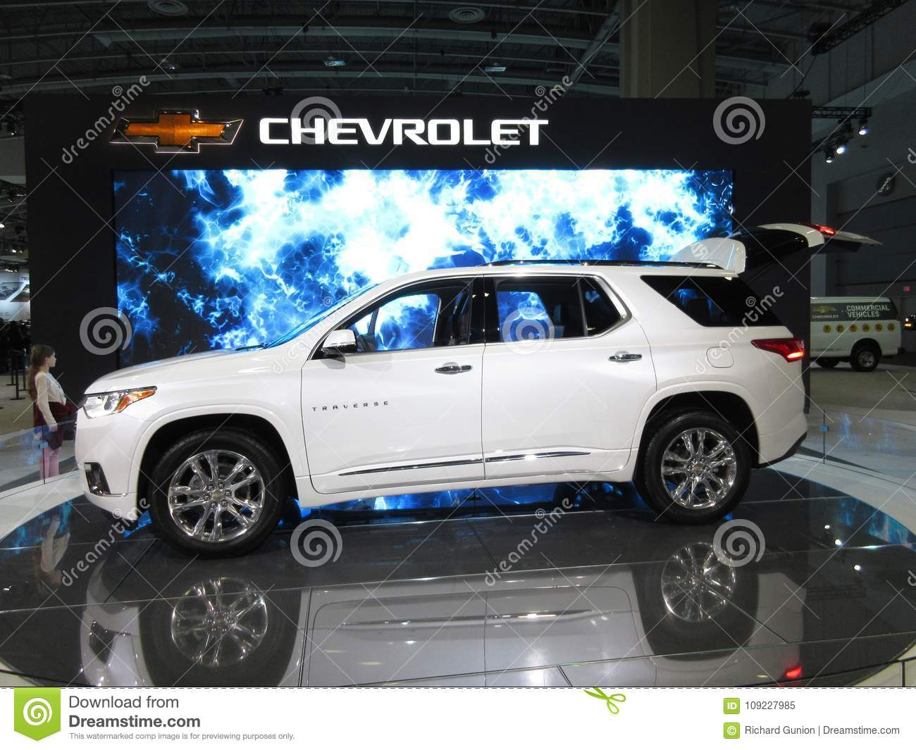 Chevrolet Transverse At The Auto Show Editorial Image Image Of - Washington dc car show discount tickets