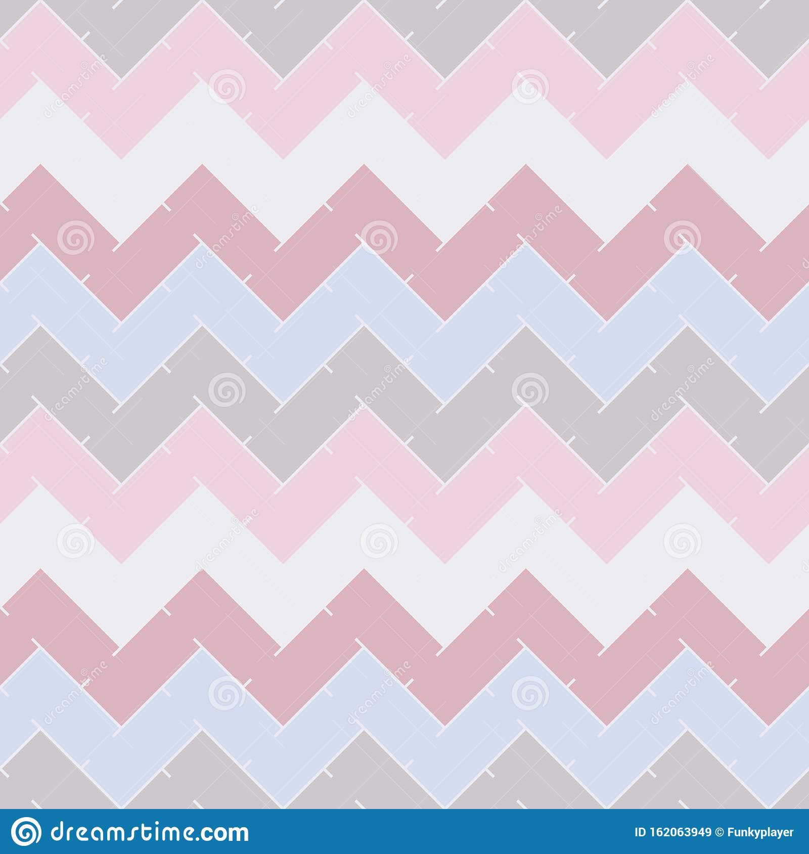 Chevron Stripes Abstract Background Pastel Seamless Pattern With Classic Geometric Ornament Zigzag Horizontal Lines Stock Vector Illustration Of Geometric Jagged 162063949
