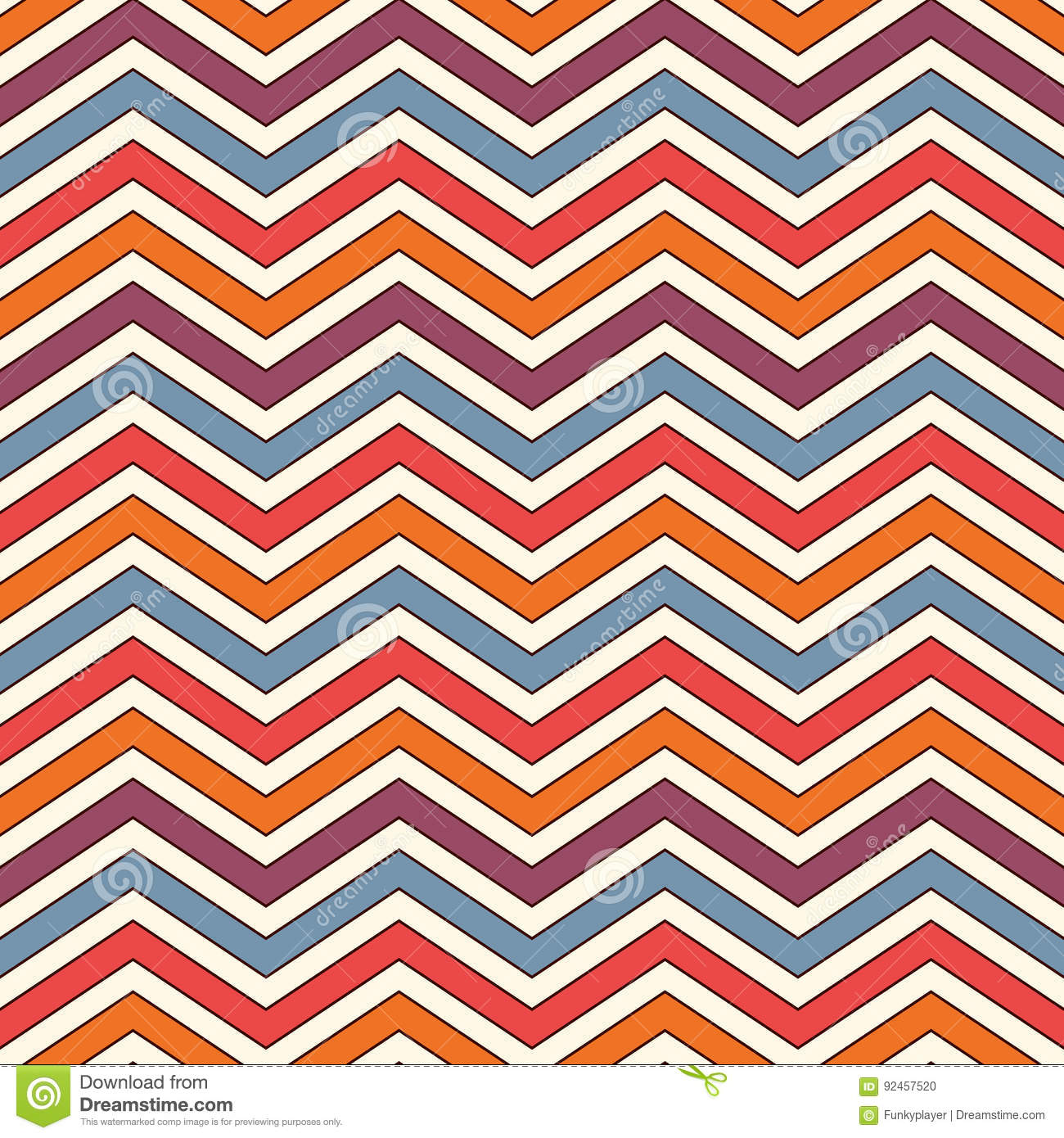 And black diagonal stripes background seamless background or wallpaper - Chevron Stripes Background Bright Seamless Pattern With Classic Geometric Ornament Zigzag Horizontal Lines Wallpaper