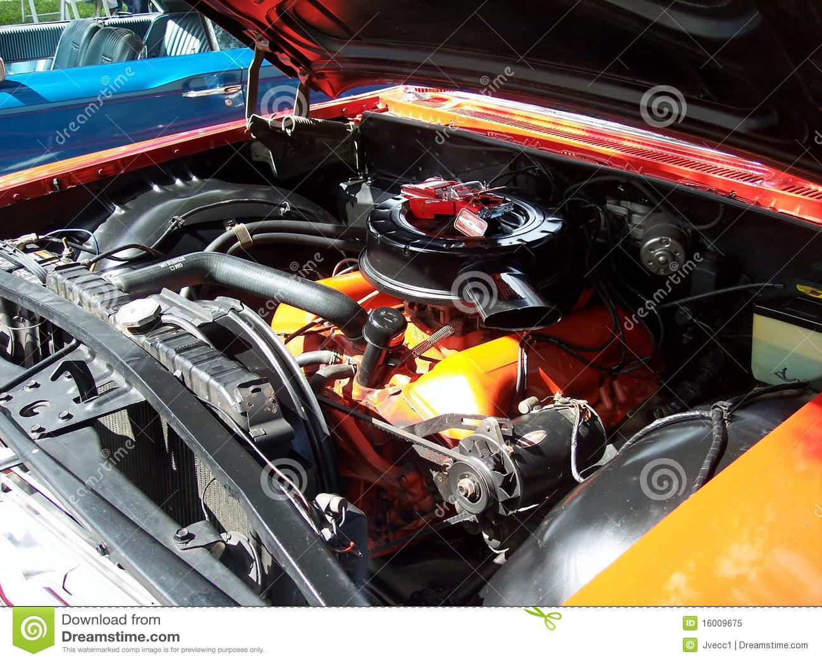 Chevy κλασικό impala μηχανών αυτοκ&iota