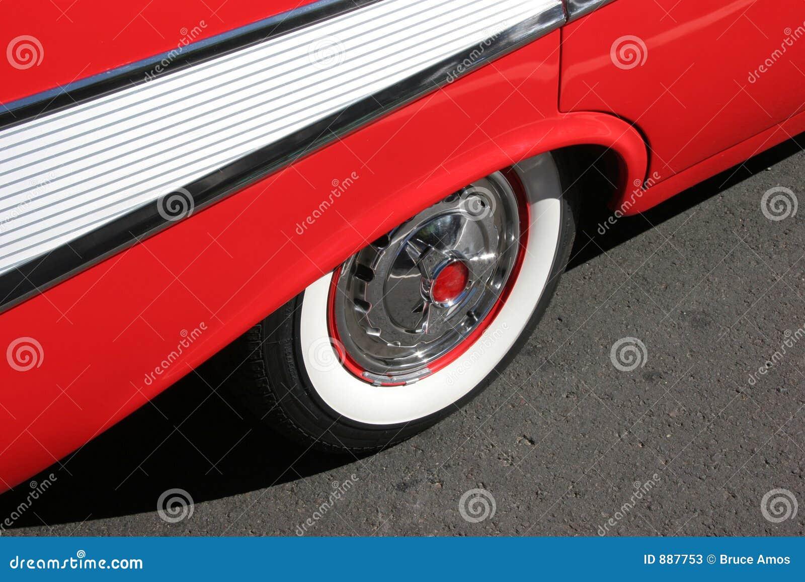 Chevy 57 widok boczny