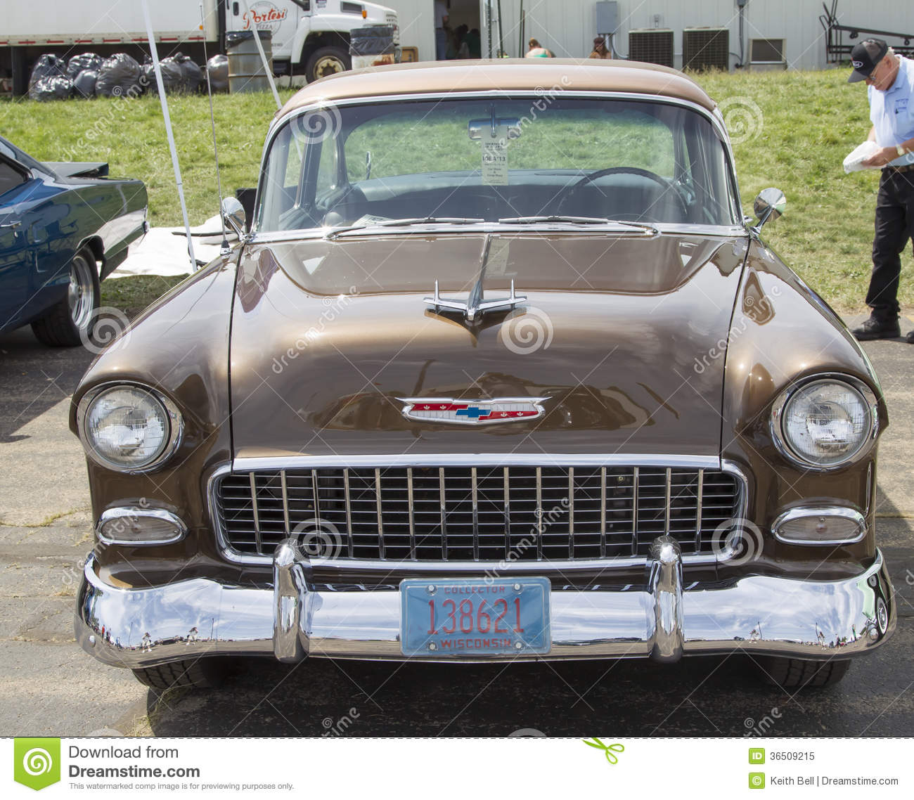 Chevy Bel Air Copper 1955