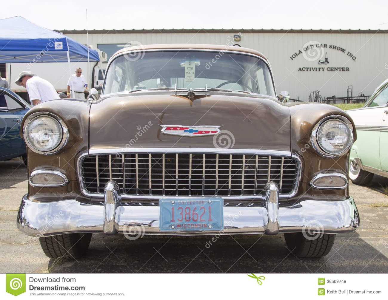 Chevy Bel Air Copper Front View 1955