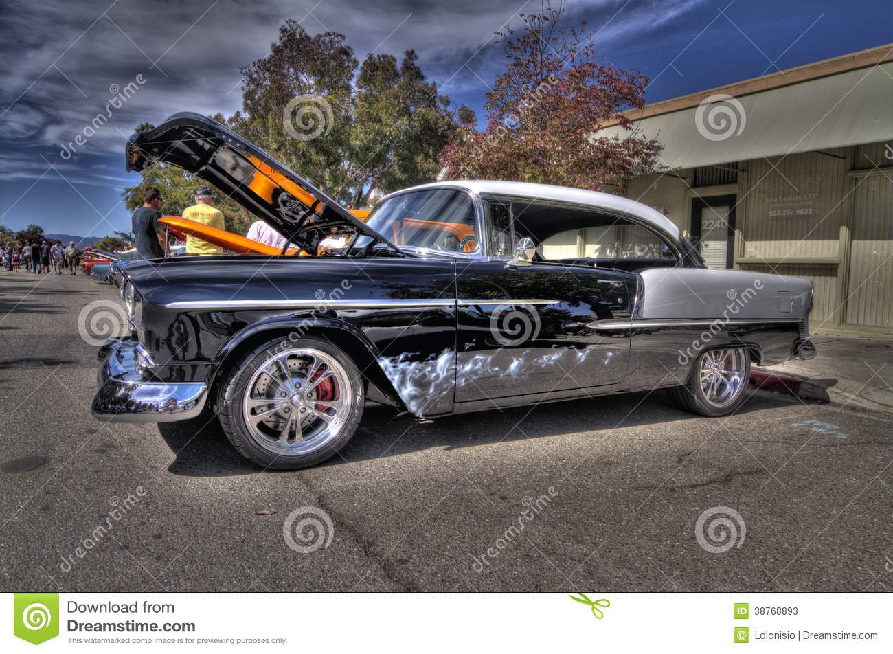 Chevy Belair In HDR Editorial Stock Photo Image Of California - Livermore car show