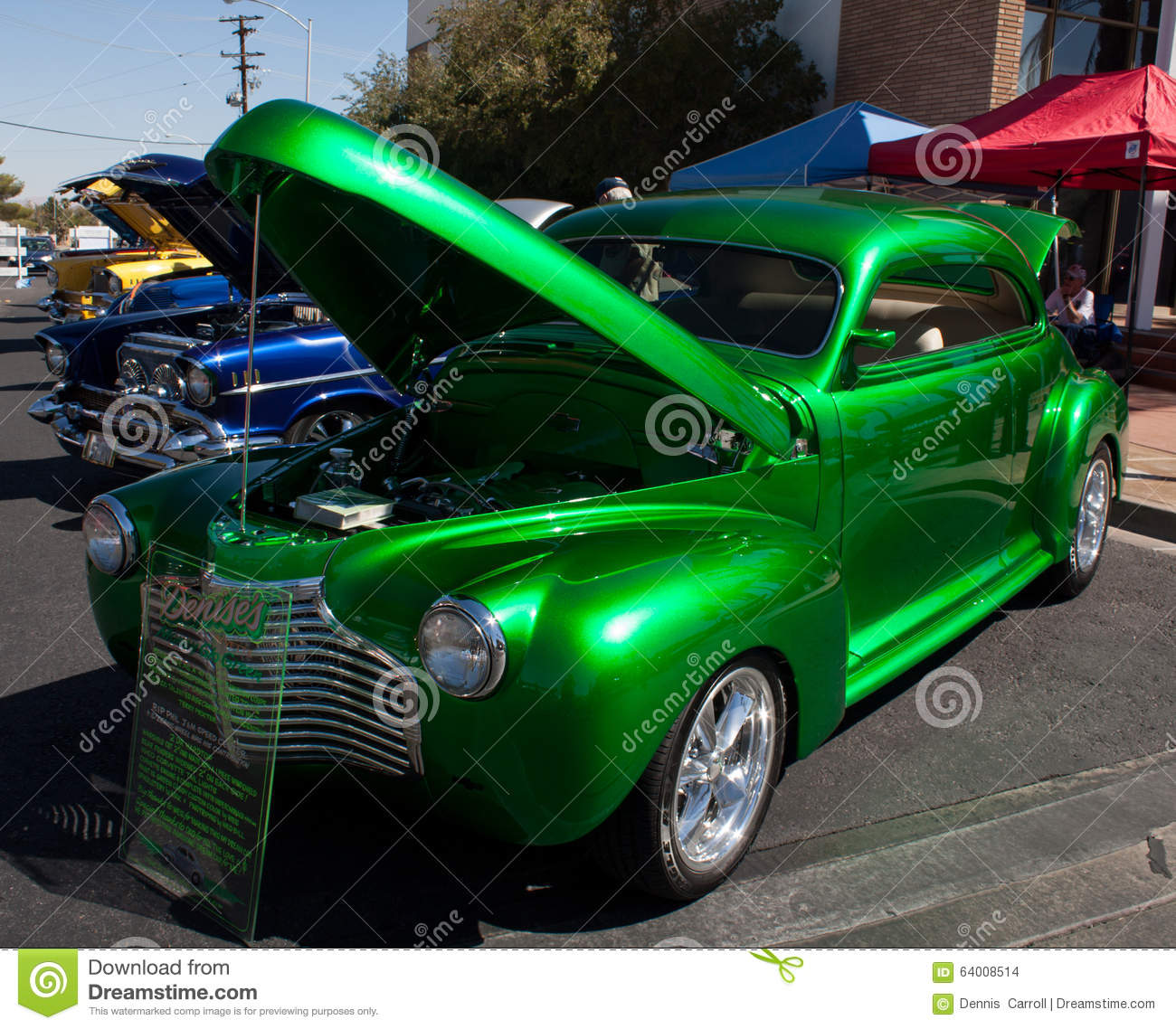1941 Chevy editorial stock image  Image of green, muscle - 64008514