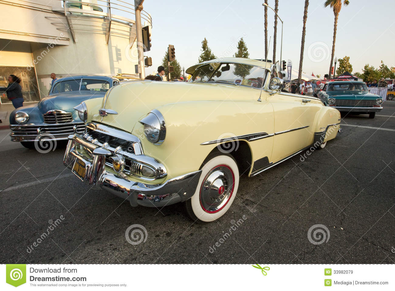 Chevy Deluxe Convertible
