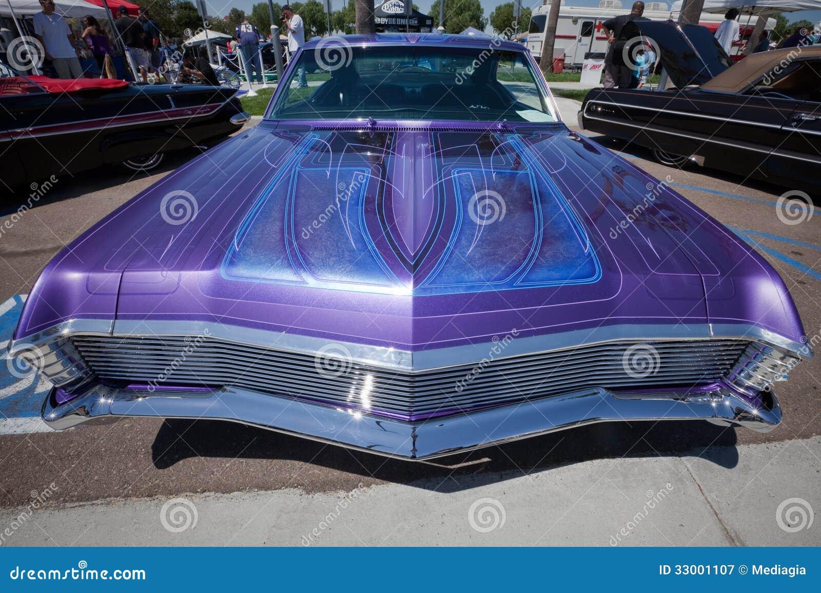 1967 Chevy Impala Custom Pinstripping Editorial ...