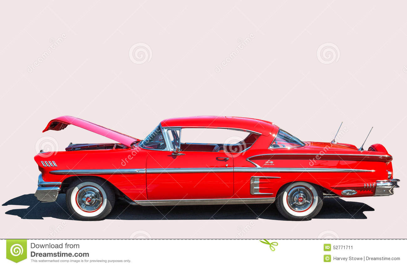 Chevy Impala On A White Background Editorial Photo Image Of - Car shows in washington state