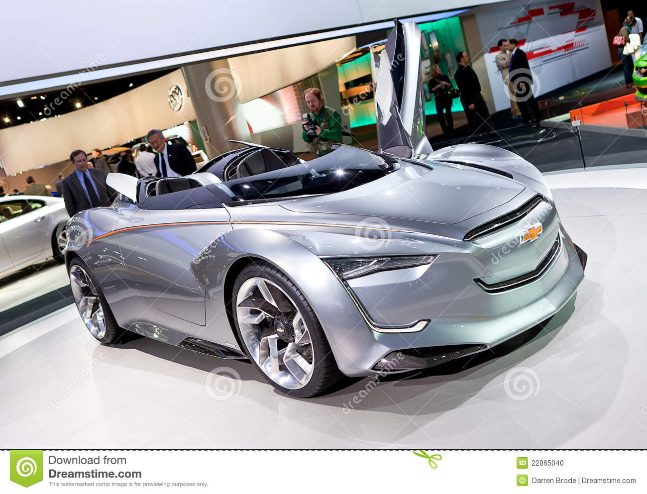 All Chevy chevy cars 2012 Chevy Miray Concept Car 2012 NAIAS Stock Photo - Image of style ...
