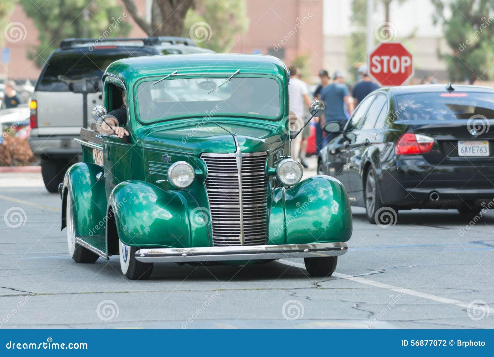 Chevy Pickup Truck su esposizione