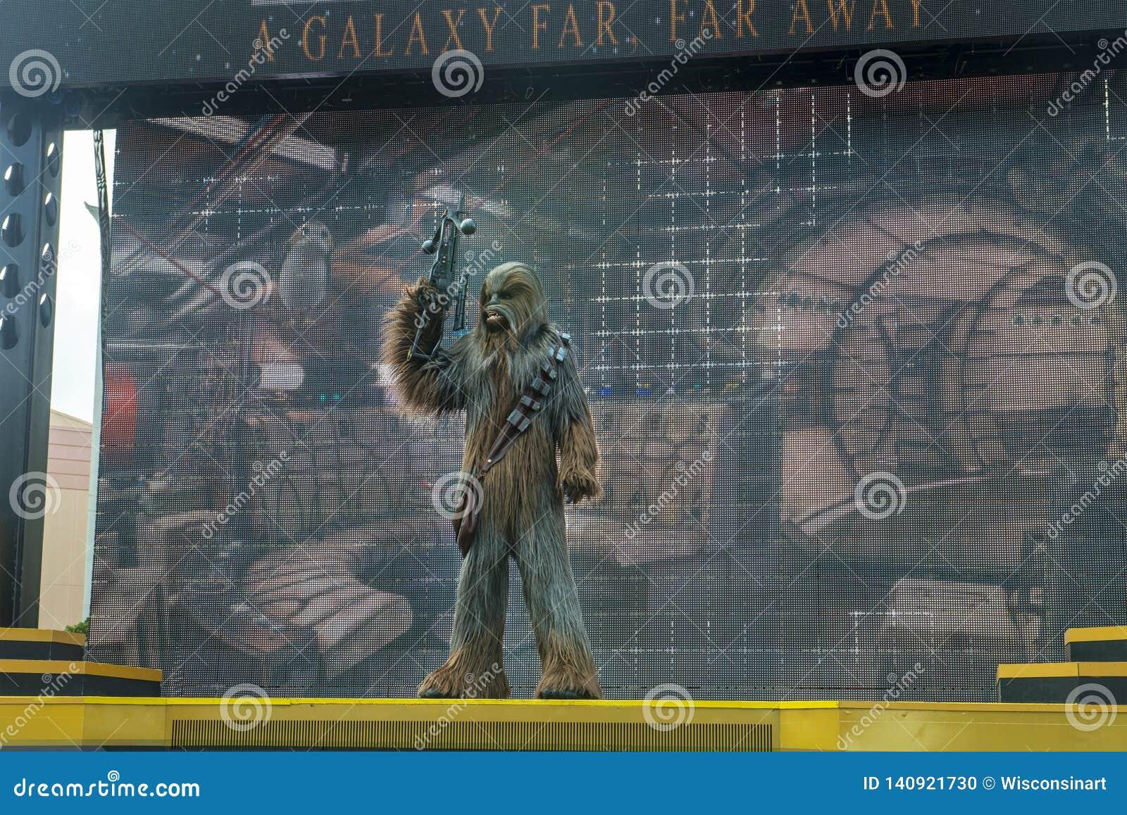 Chewbacca, Star Wars, Disney World, Reis