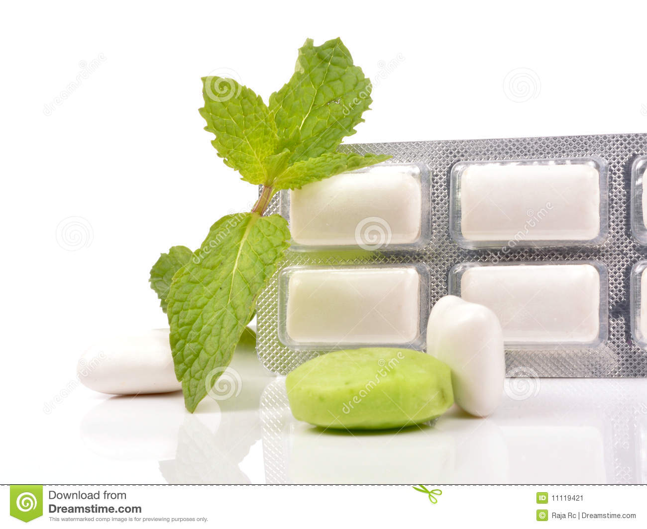 Download Chewing gum pack stock image. Image of candy, healthy - 11119421