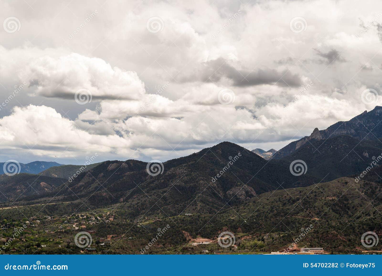 Cheyenne Mountain Range en Colorado