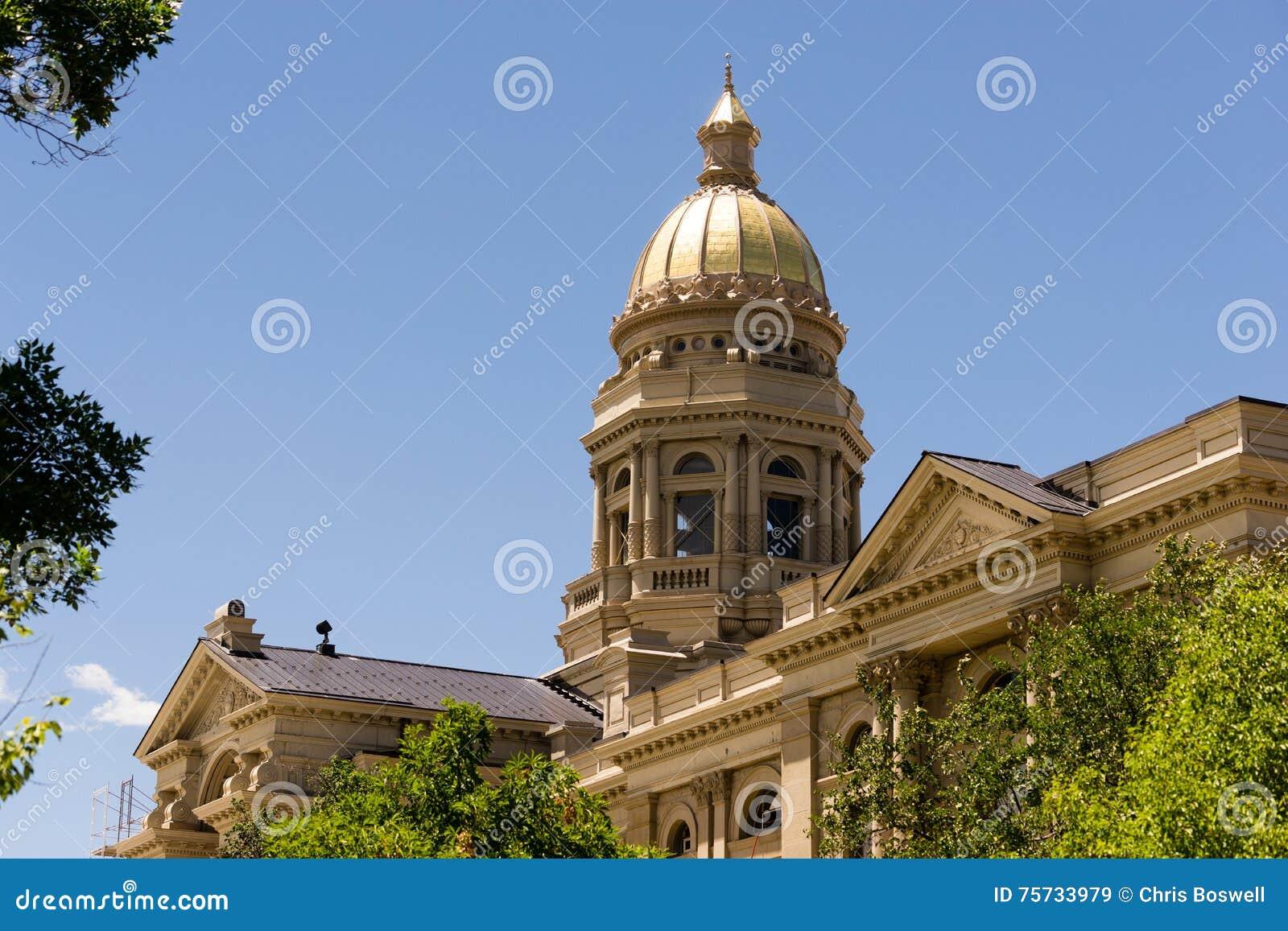 Cheyenne Wyoming Capital City Downtown Capitol Building Legislative Center
