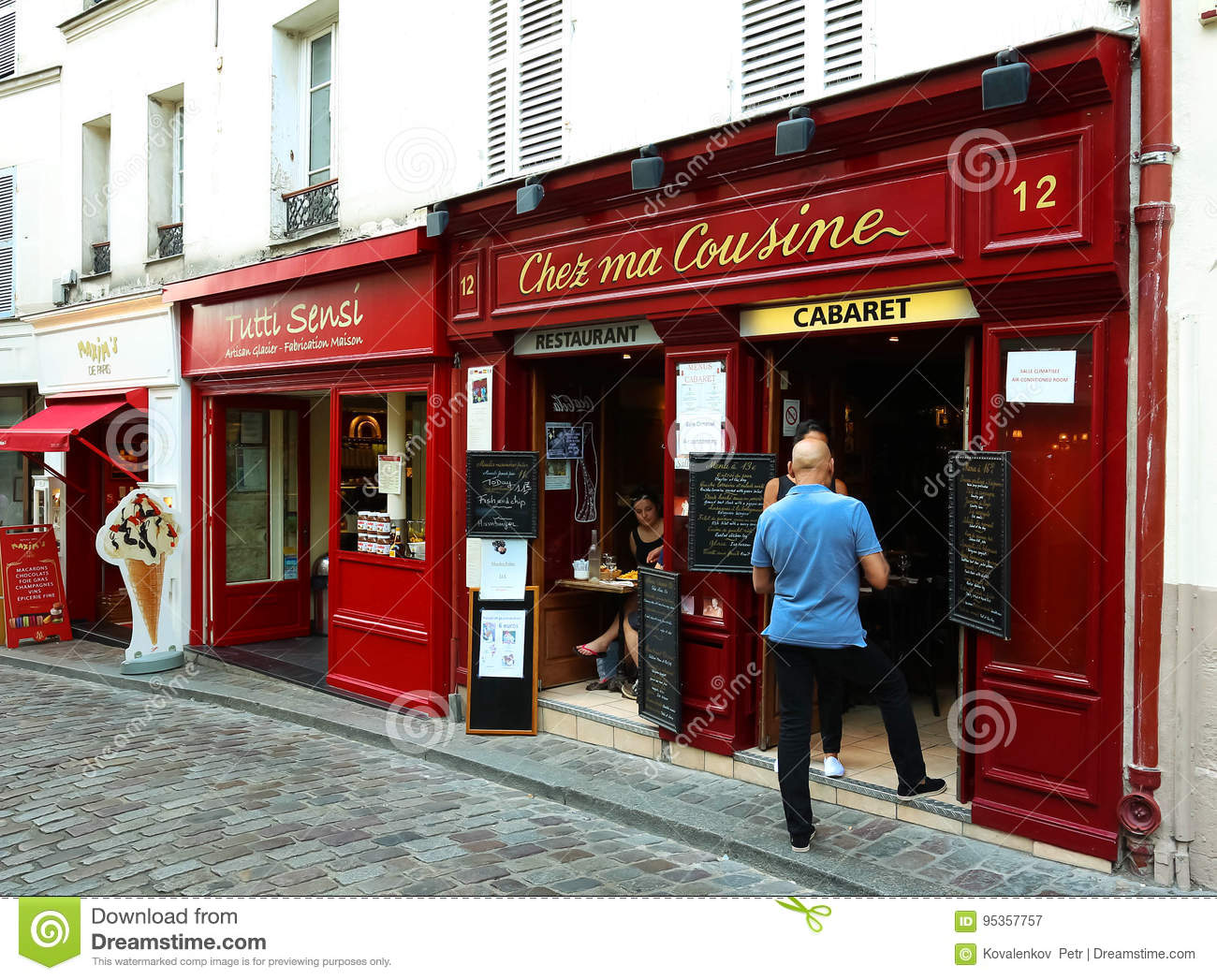 Cuisine Montmartre | The Chez Ma Cuisine Is French Traditional Cafe Located In