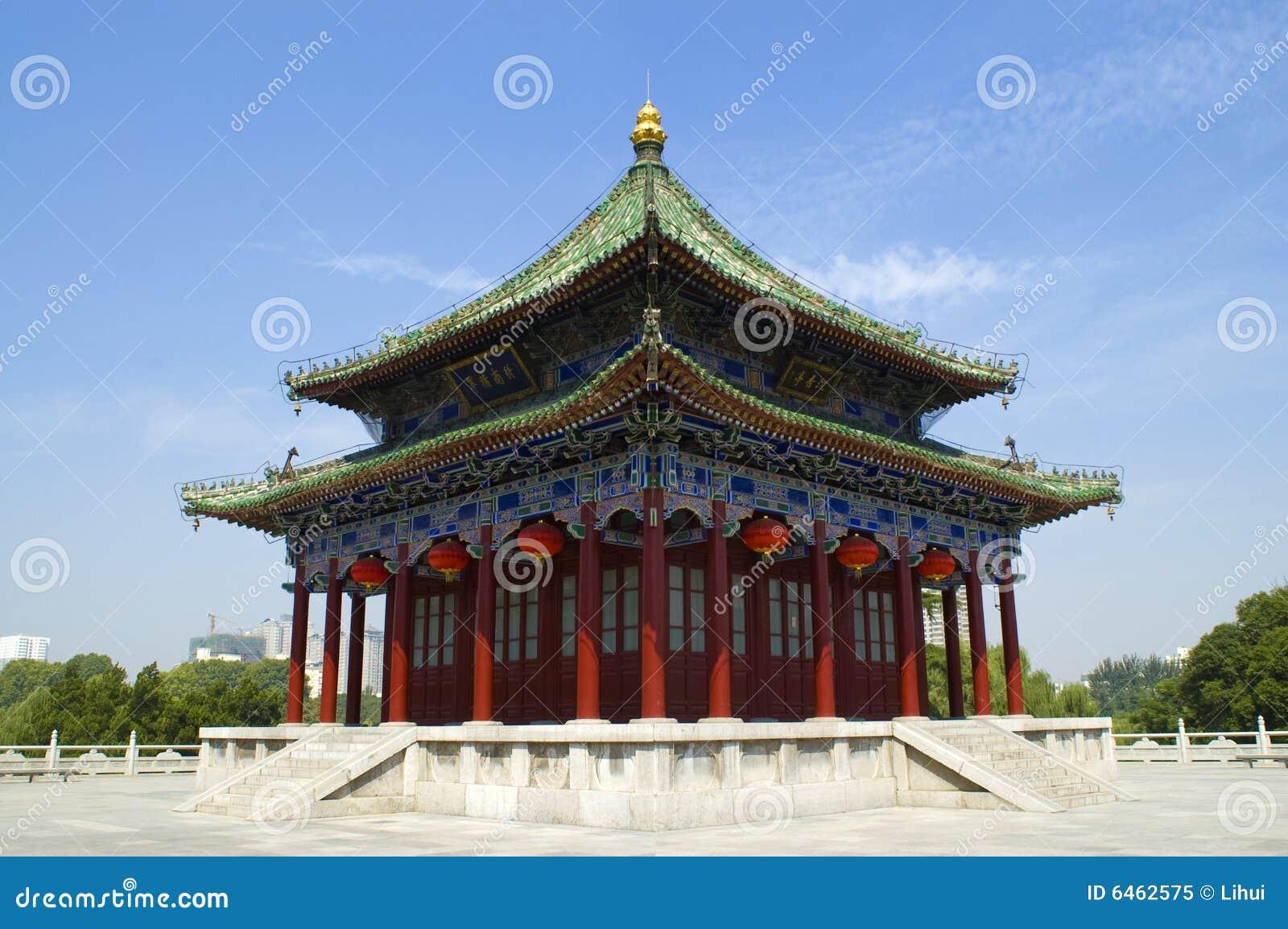 Chińczycy budynku.