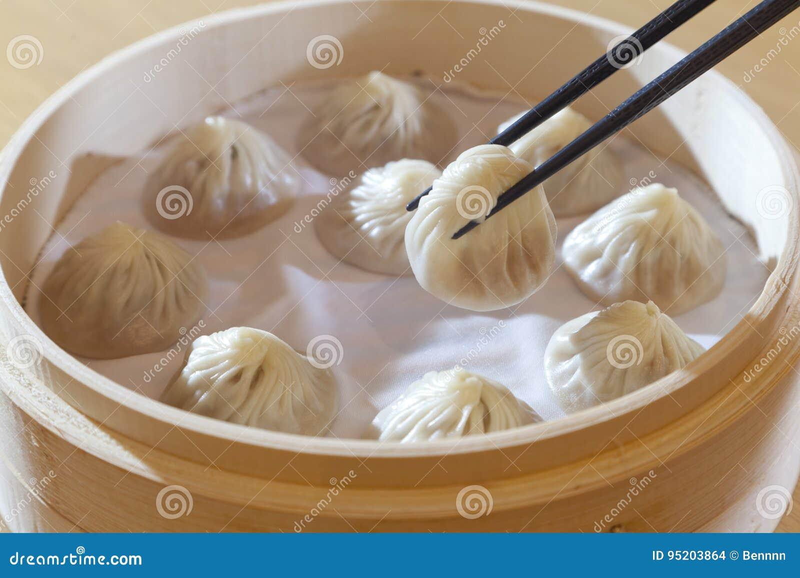 Chińczyk wieprzowiny Odparowana babeczka