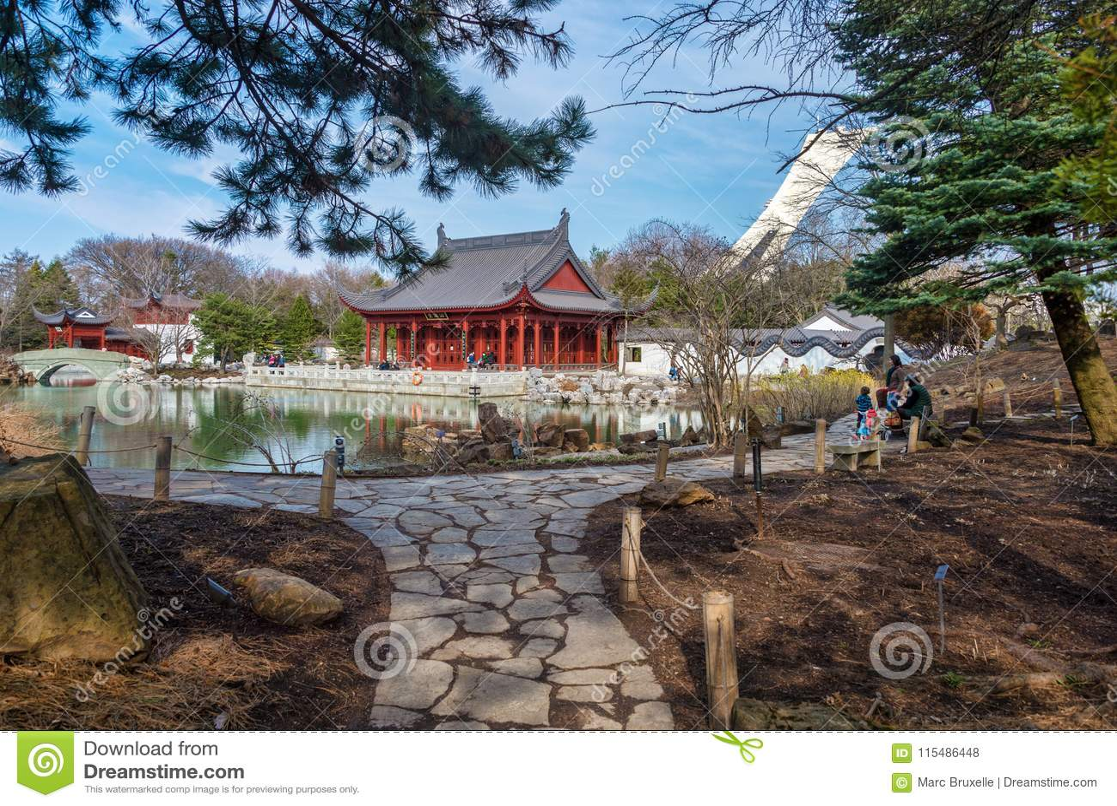 Chińczyka ogród Montreal ogród botaniczny
