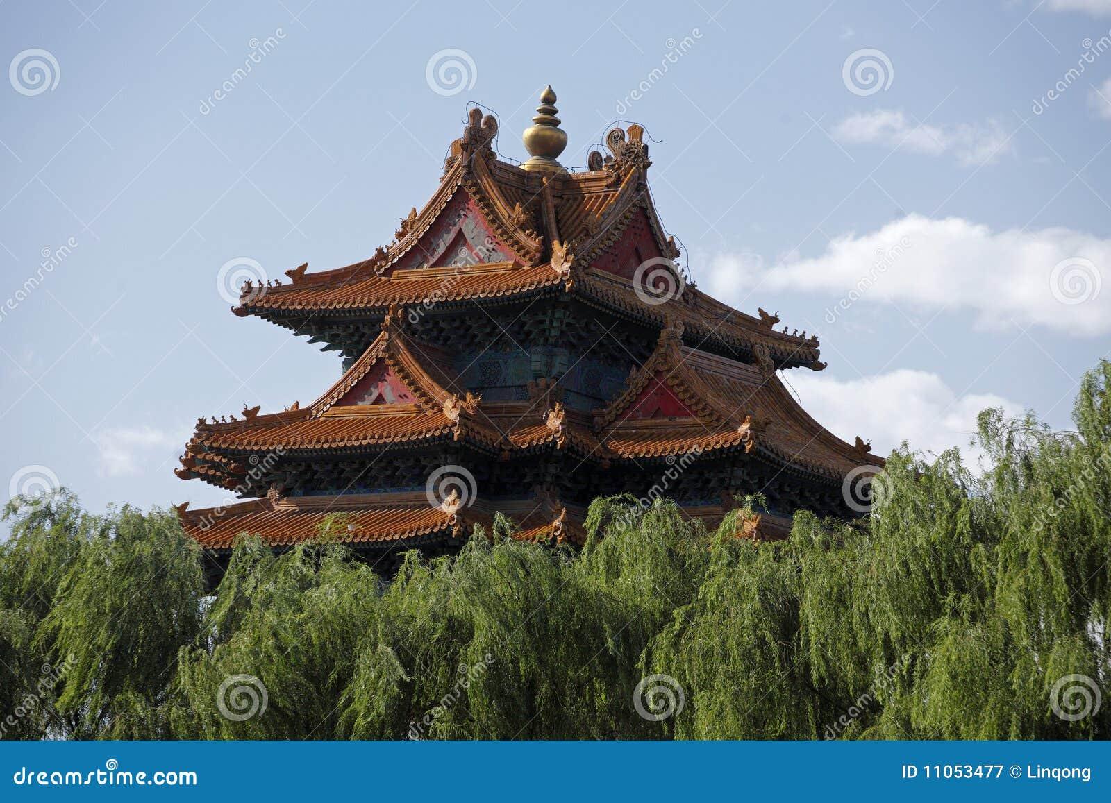 Chińscy antyczni budynki