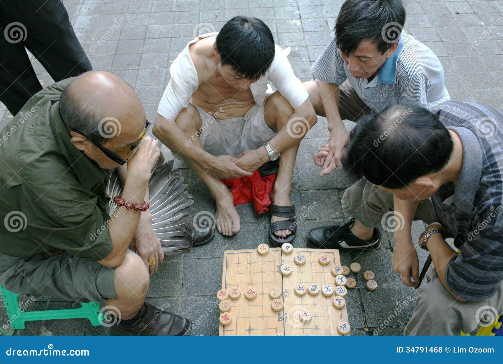 Chińscy szachowi gracze