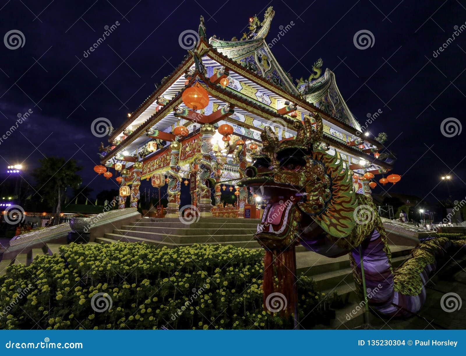 Chińska świątynia Udon Thani, Tajlandia