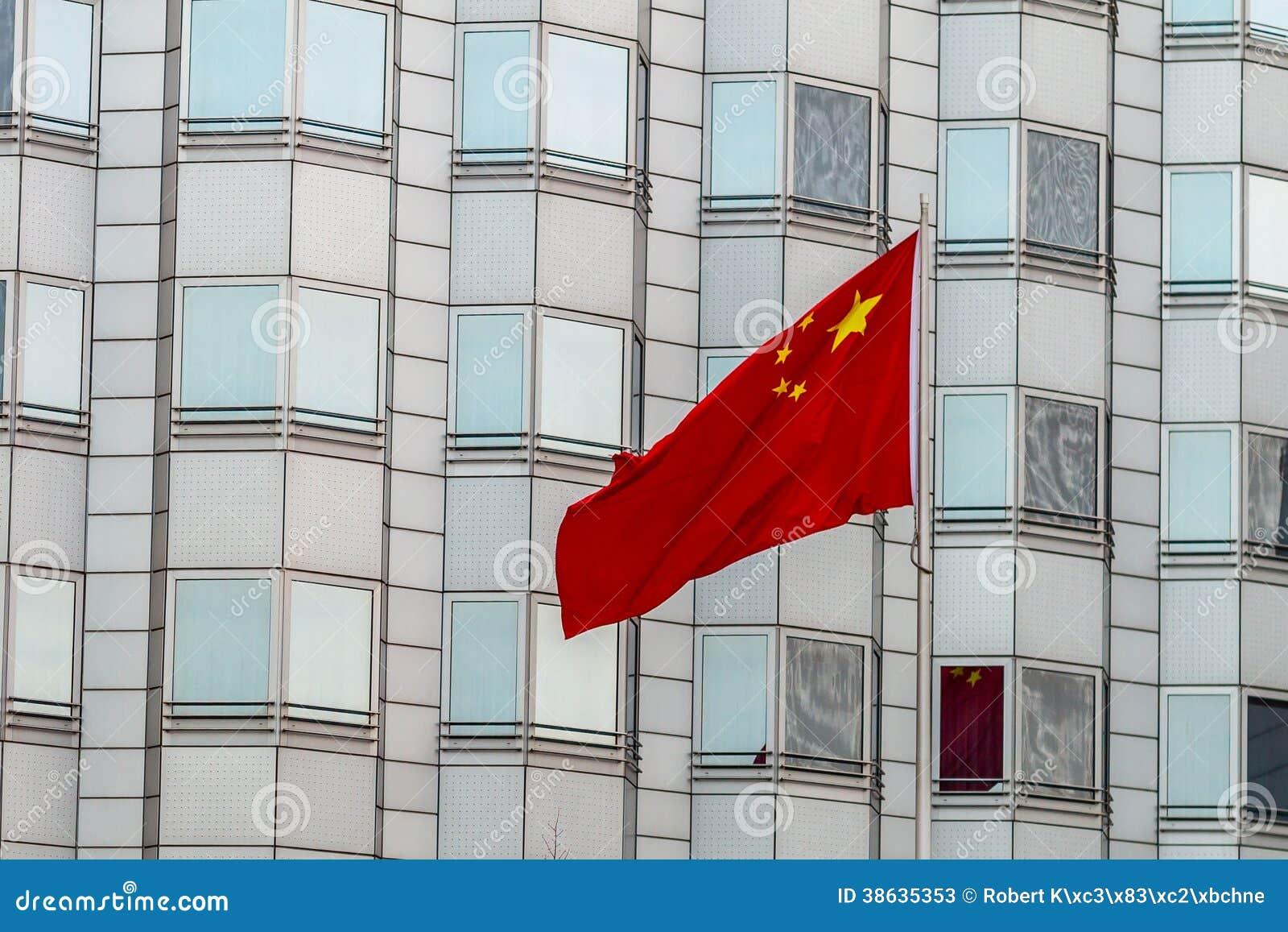 Chińska ambasada Berlin