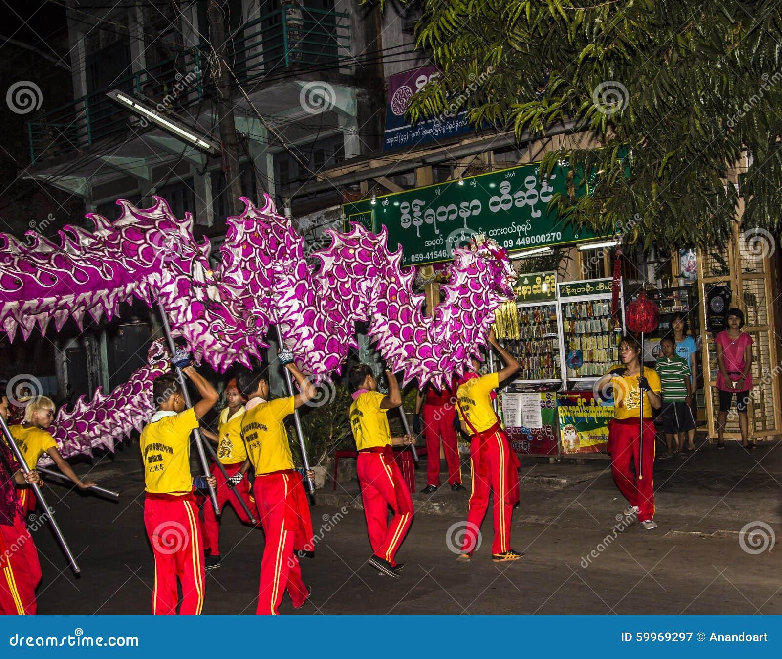 Chiński nowy rok święto