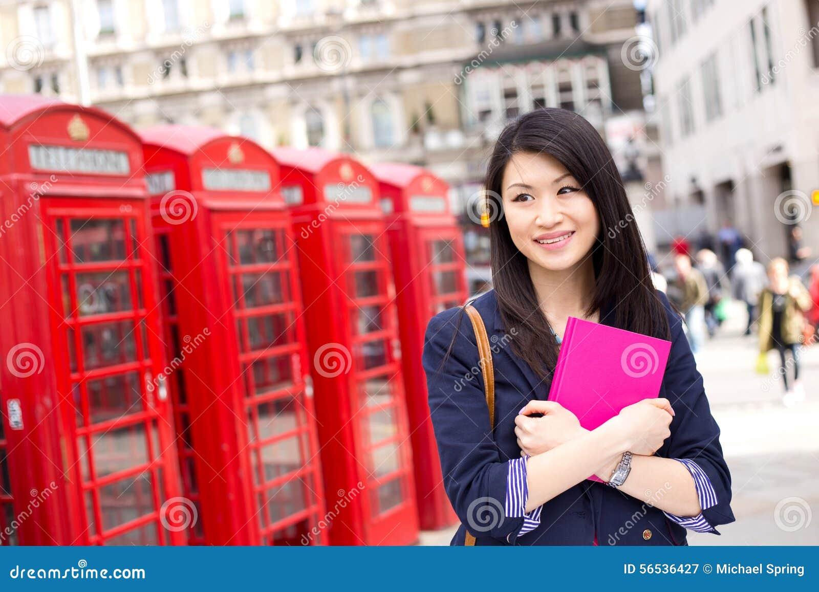 Chiński uczeń w London
