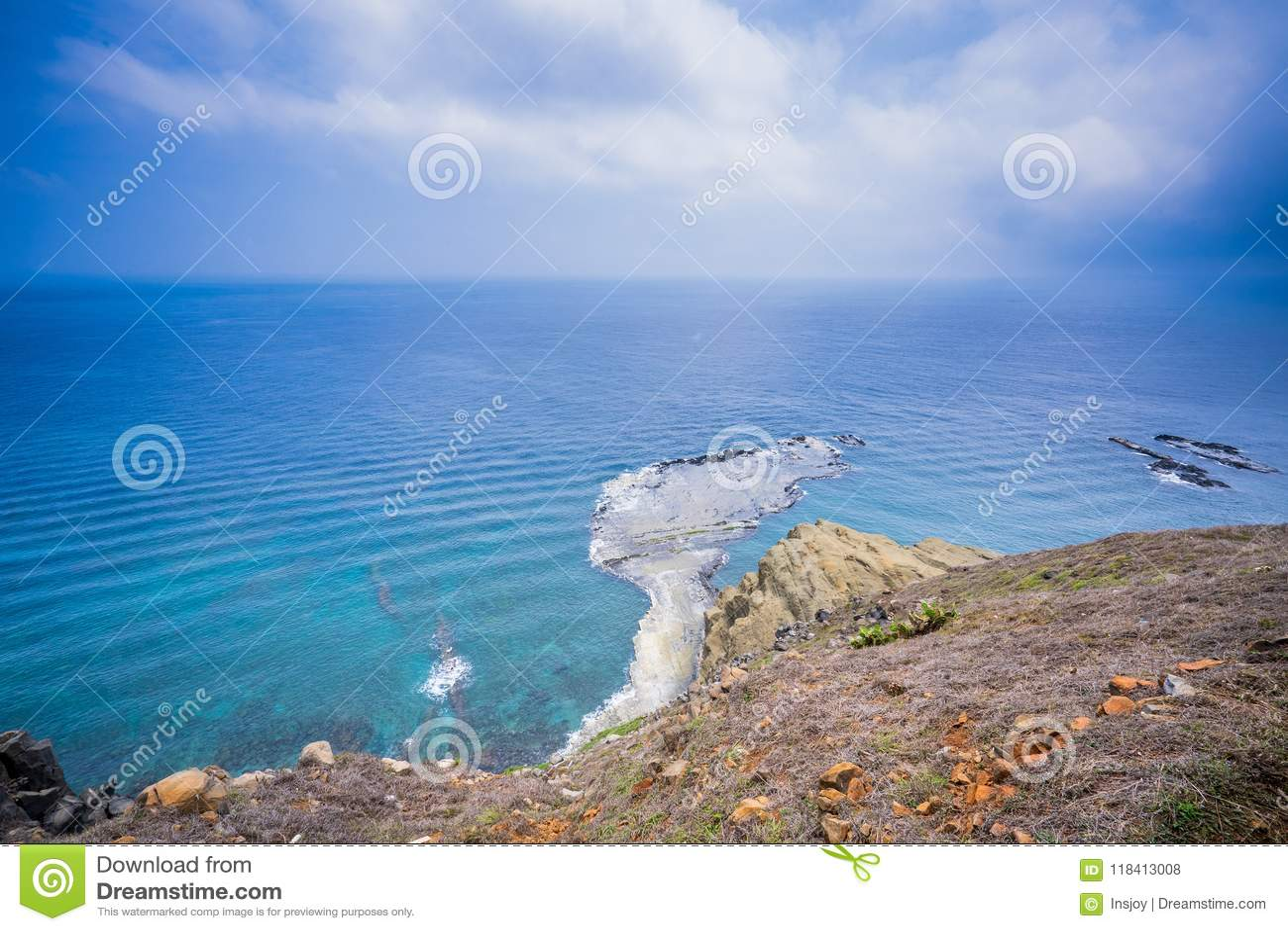 Chi-mei Island is Offshore Islands of Taiwan in penghu. There is a scenery `little Taiwan`