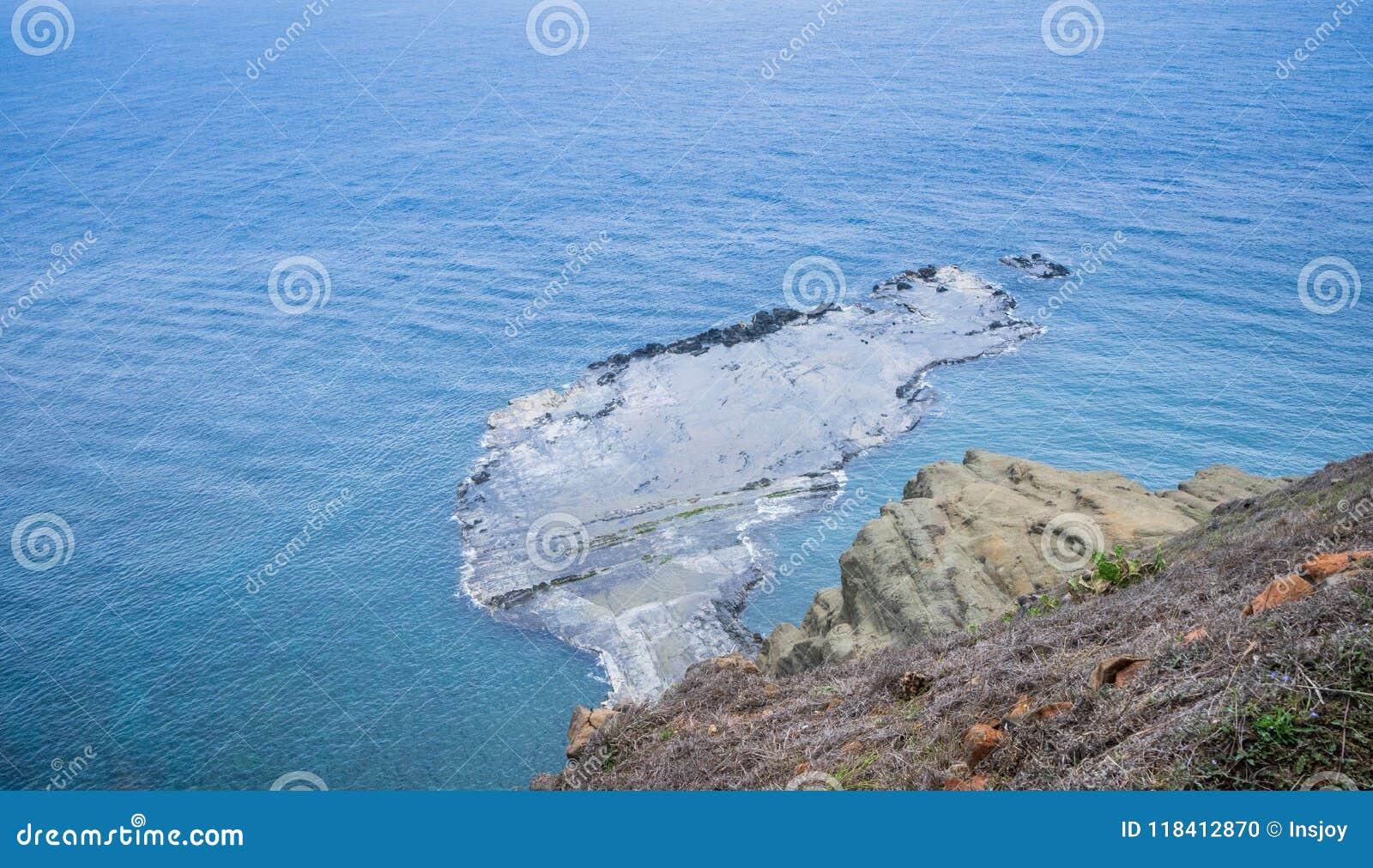 Chi--meiinsel ist küstennahe Inseln von Taiwan in Penghu Es gibt ein Landschaft ` wenig Taiwan-`