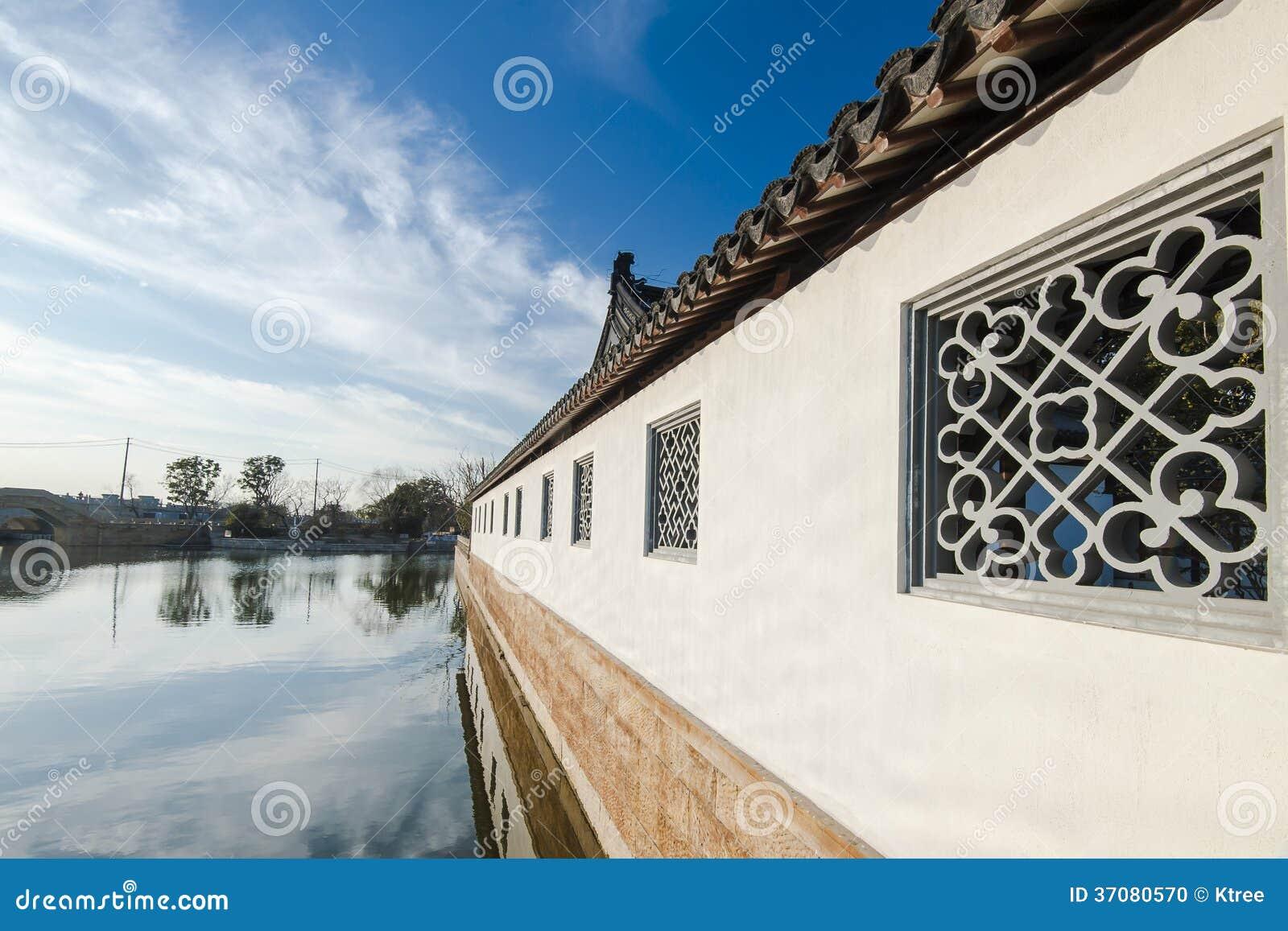 Download Chiński ludu dom zdjęcie stock. Obraz złożonej z oriental - 37080570