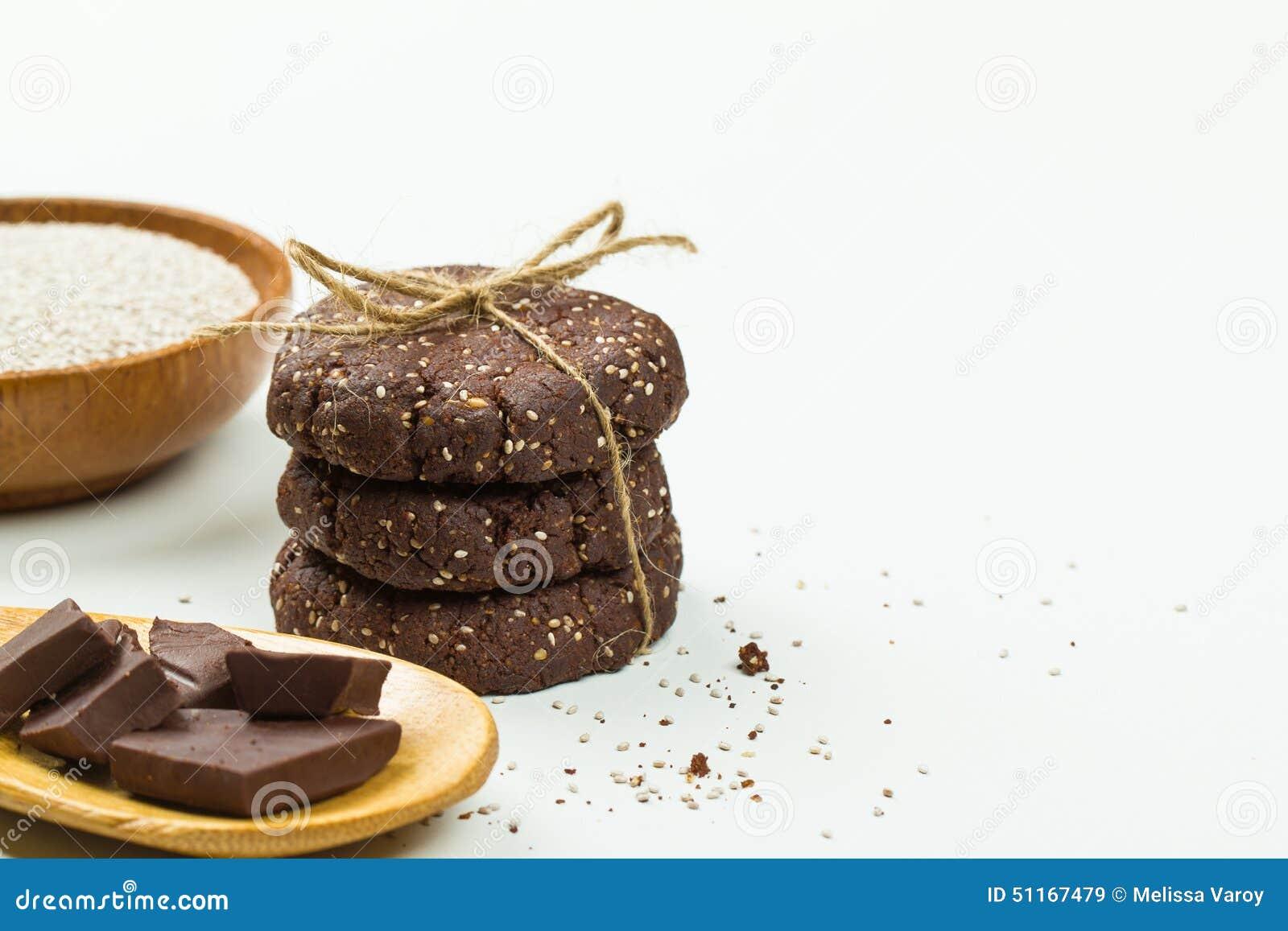 Chocolate Chia Cake Paleo