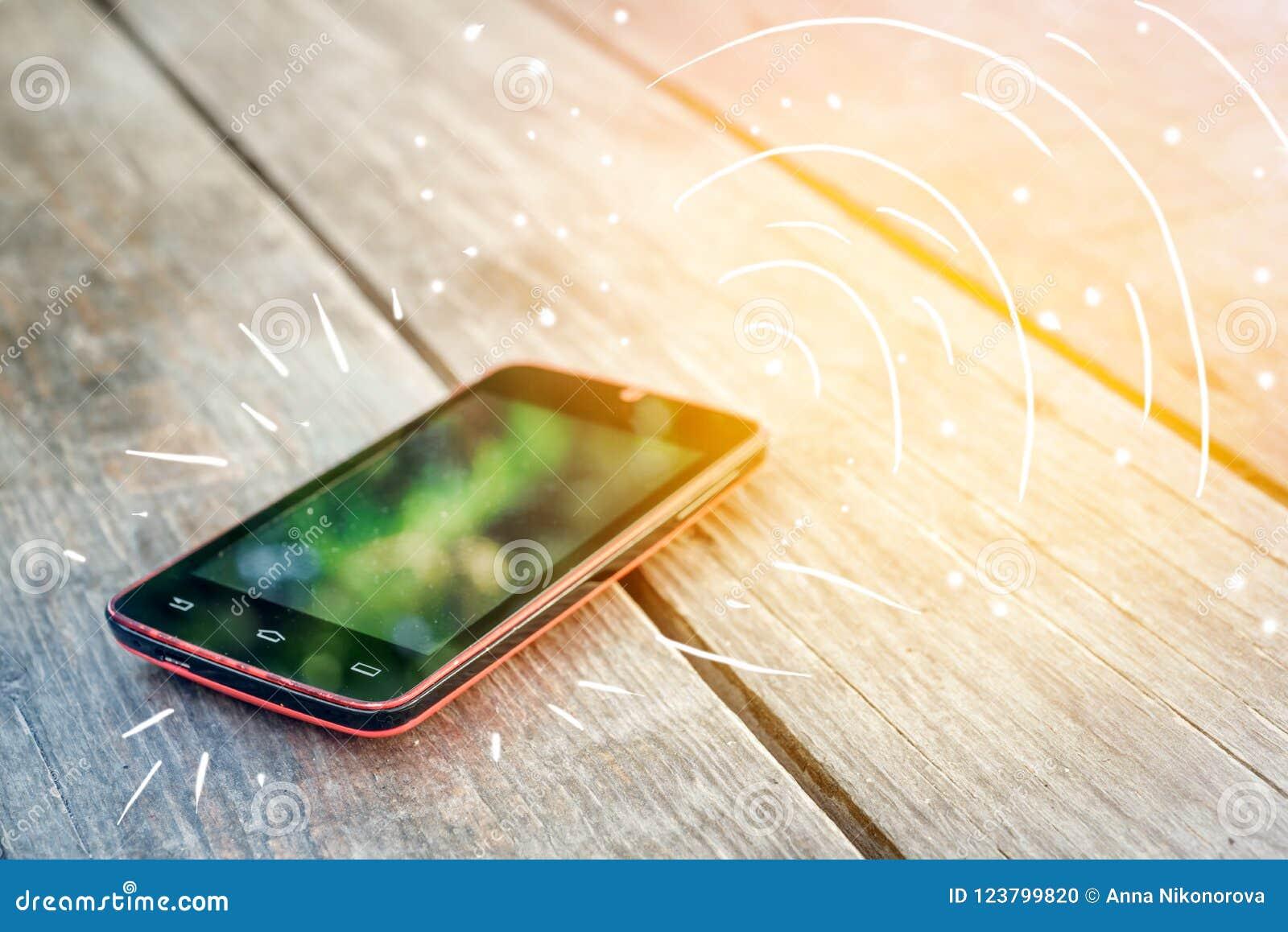 Chiamate di Smartphone sulla tavola