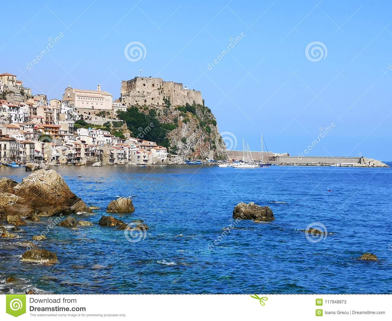 Chianalea at Scilla, Italy