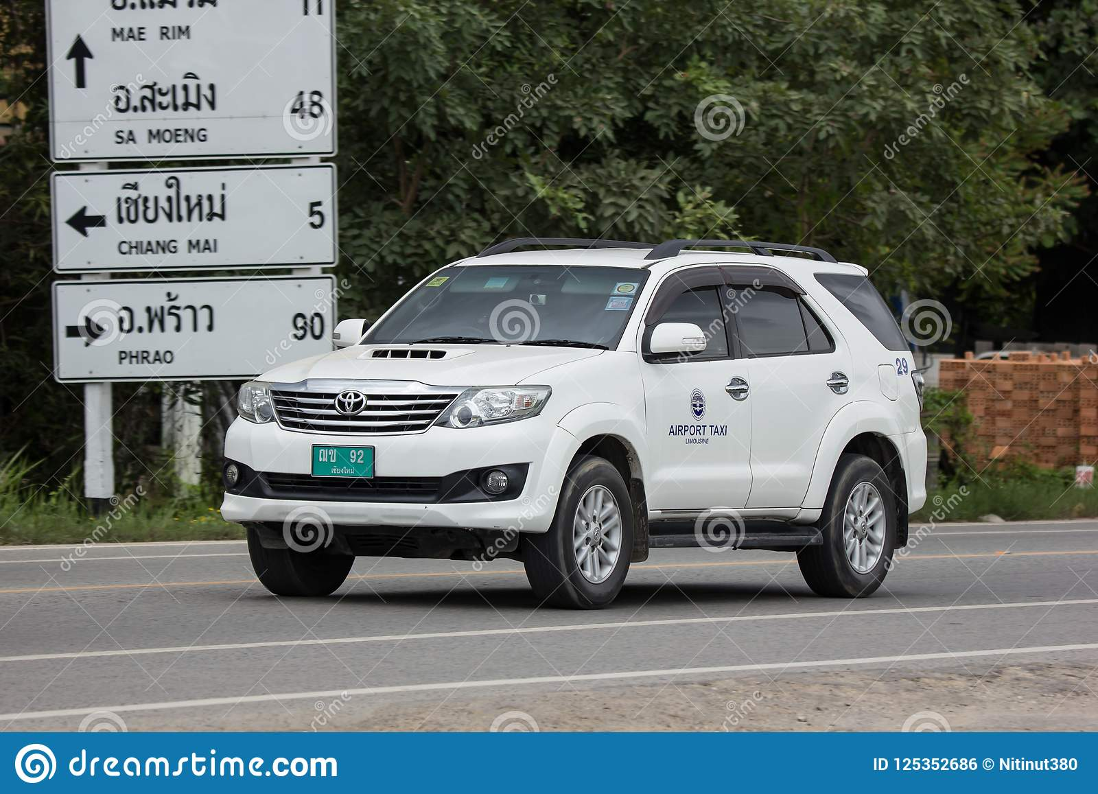 Chiang mai Airport Taxi editorial photo  Image of drive