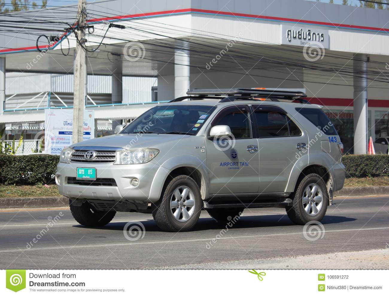 Chiang mai Airport Taxi editorial photography  Image of