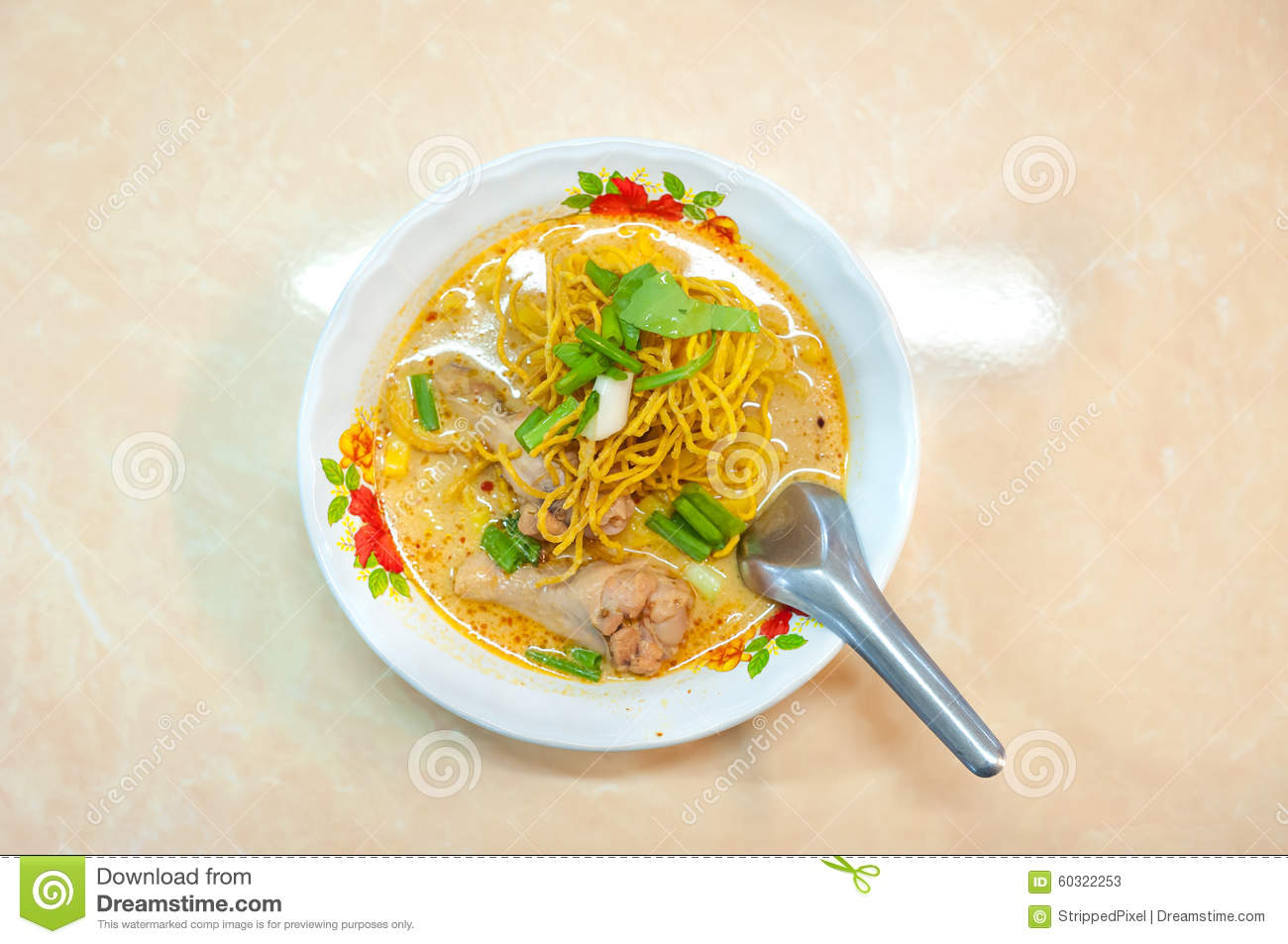 ... Mai restaurant on June 8, 2015. Khao soi is one of Chiang Mai's most