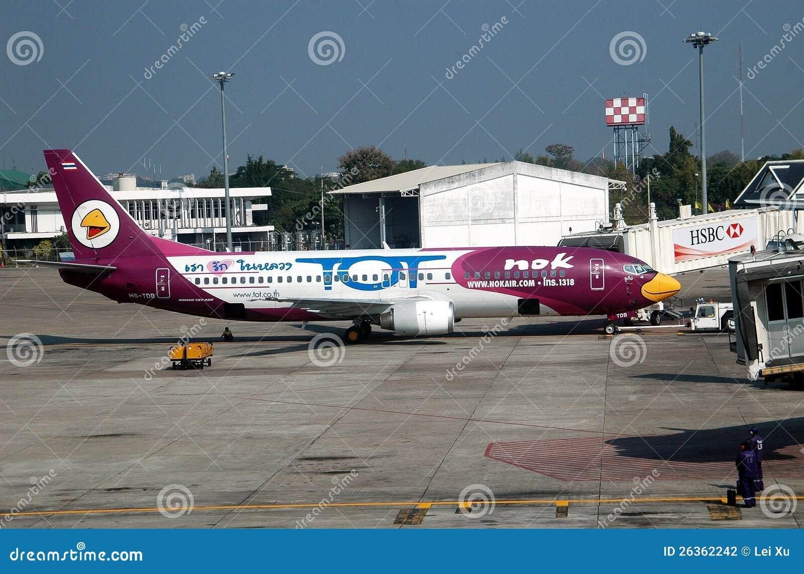 Chiang Mai, TH: NOK-Fluglinien Airbus