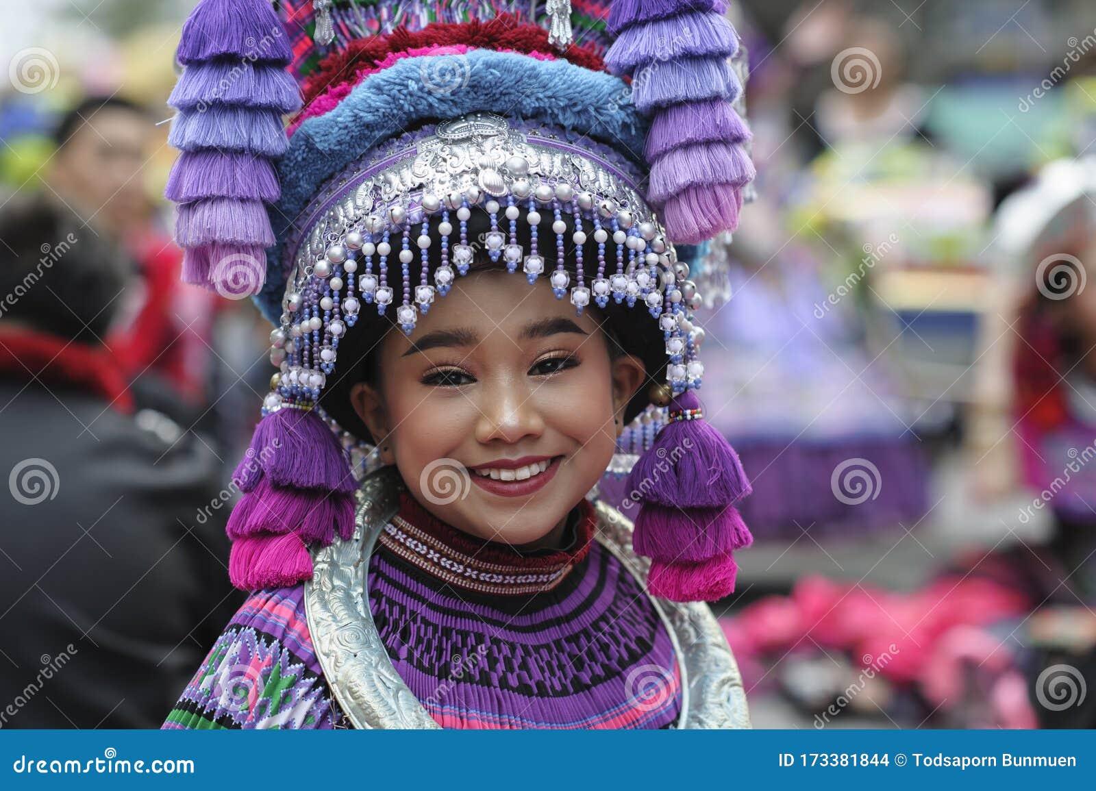 CHIANG MAI, THAILAND - FEBRUARY 08, 2020: Traditionally