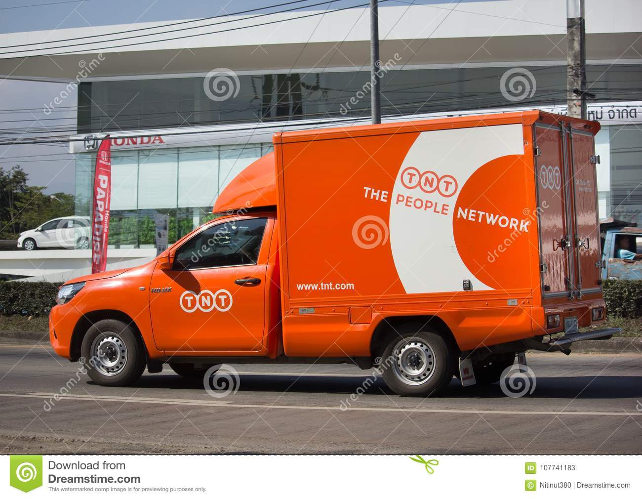 424c9414c1ac85 TNT Logistic Container Pickup Truck Editorial Stock Photo - Image of ...