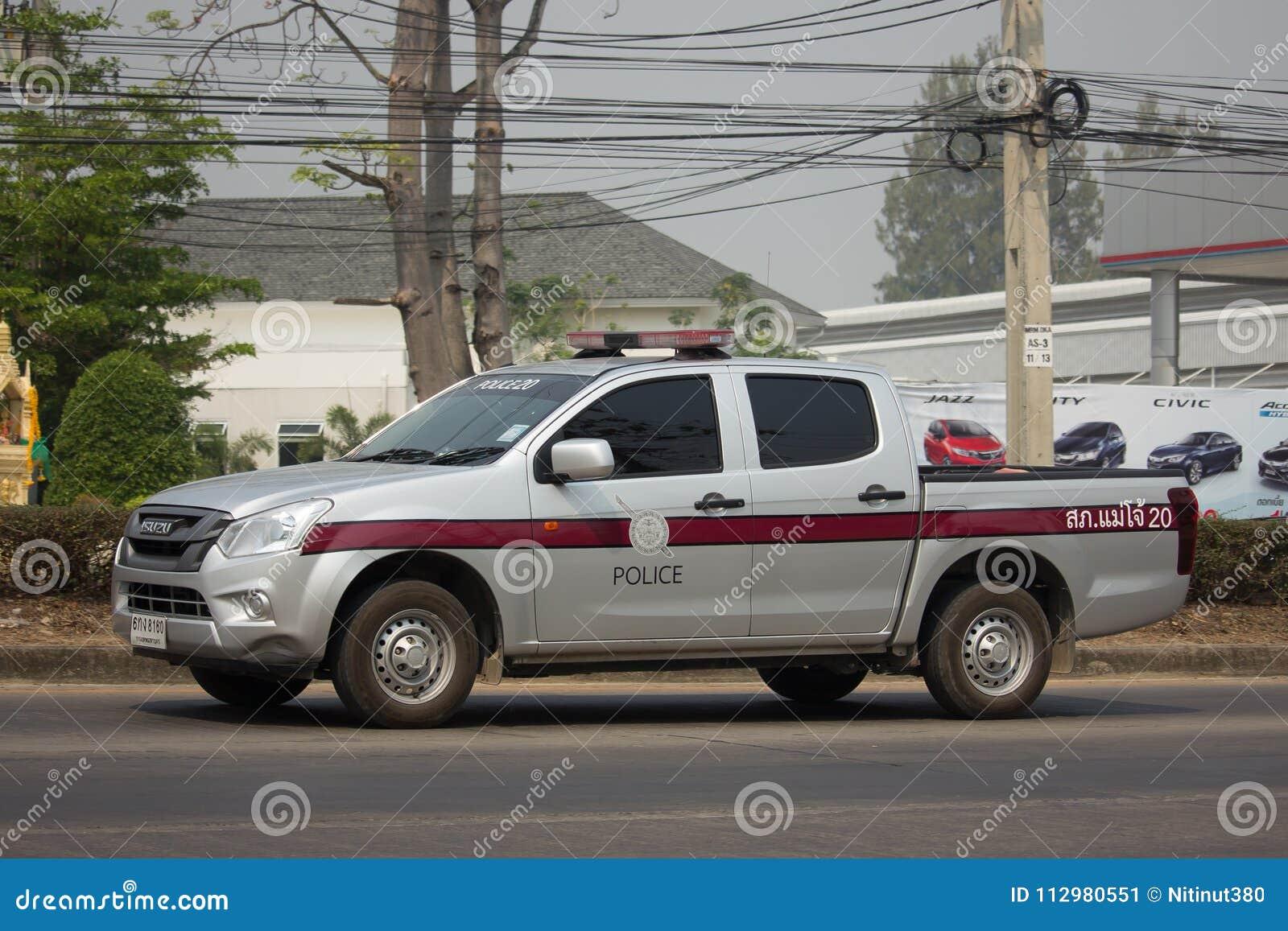 Police car of Royal Thai Police.