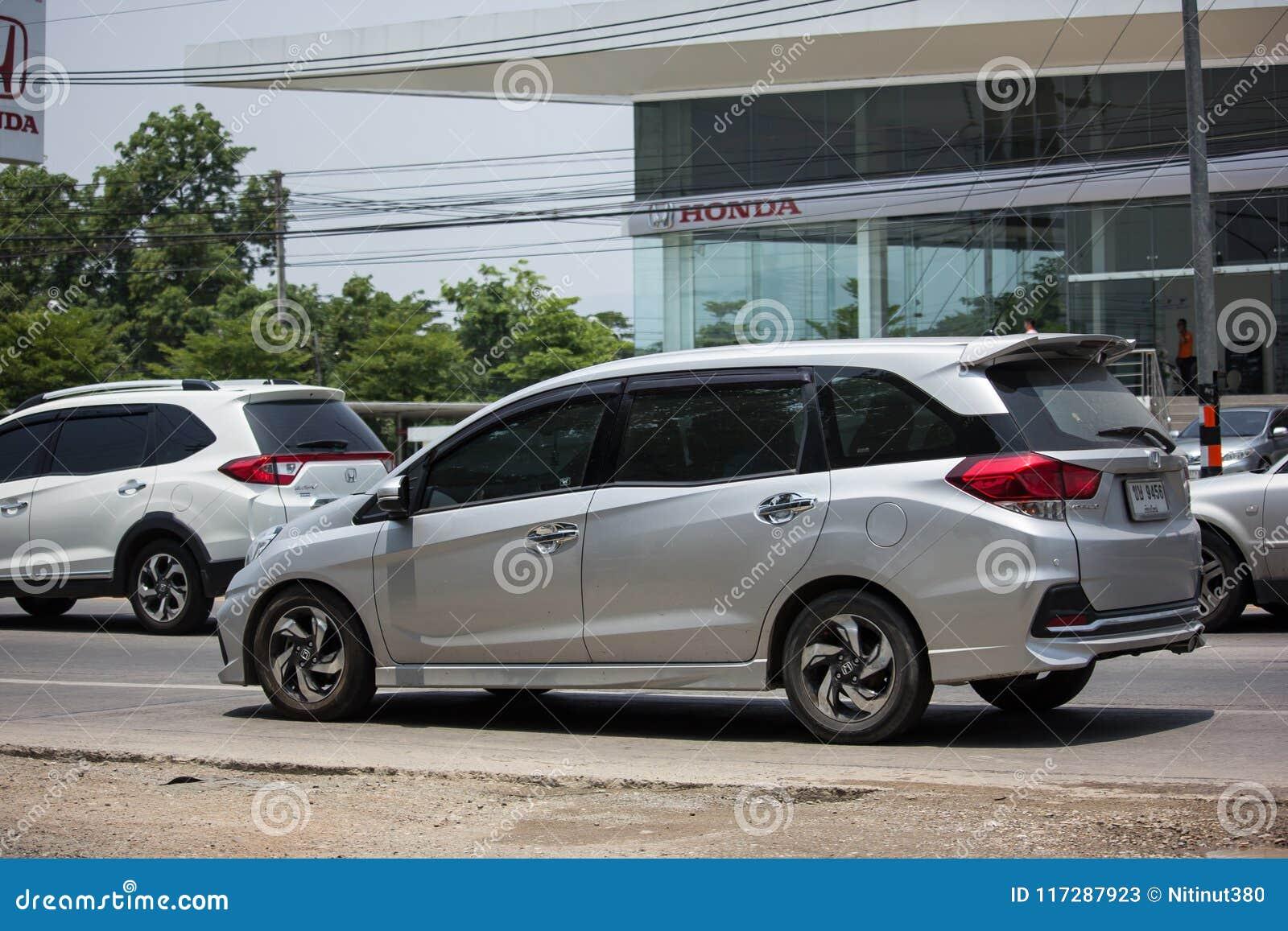 Private Honda Mobilio Van Editorial Stock Photo Image Of