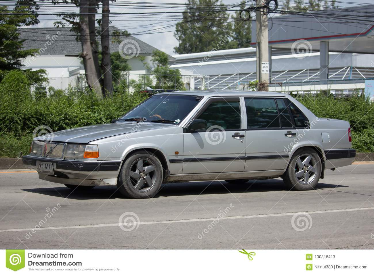 Private Old Car Volvo 740 Editorial Stock Photo Image Of Model 100316413