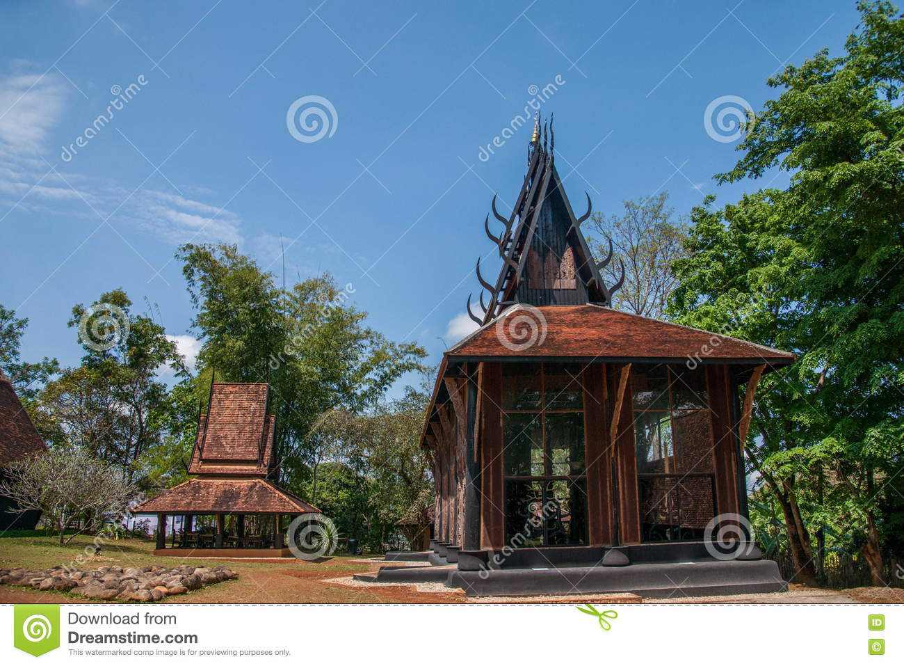Chiang Rai in northern Thailand Black House Museum