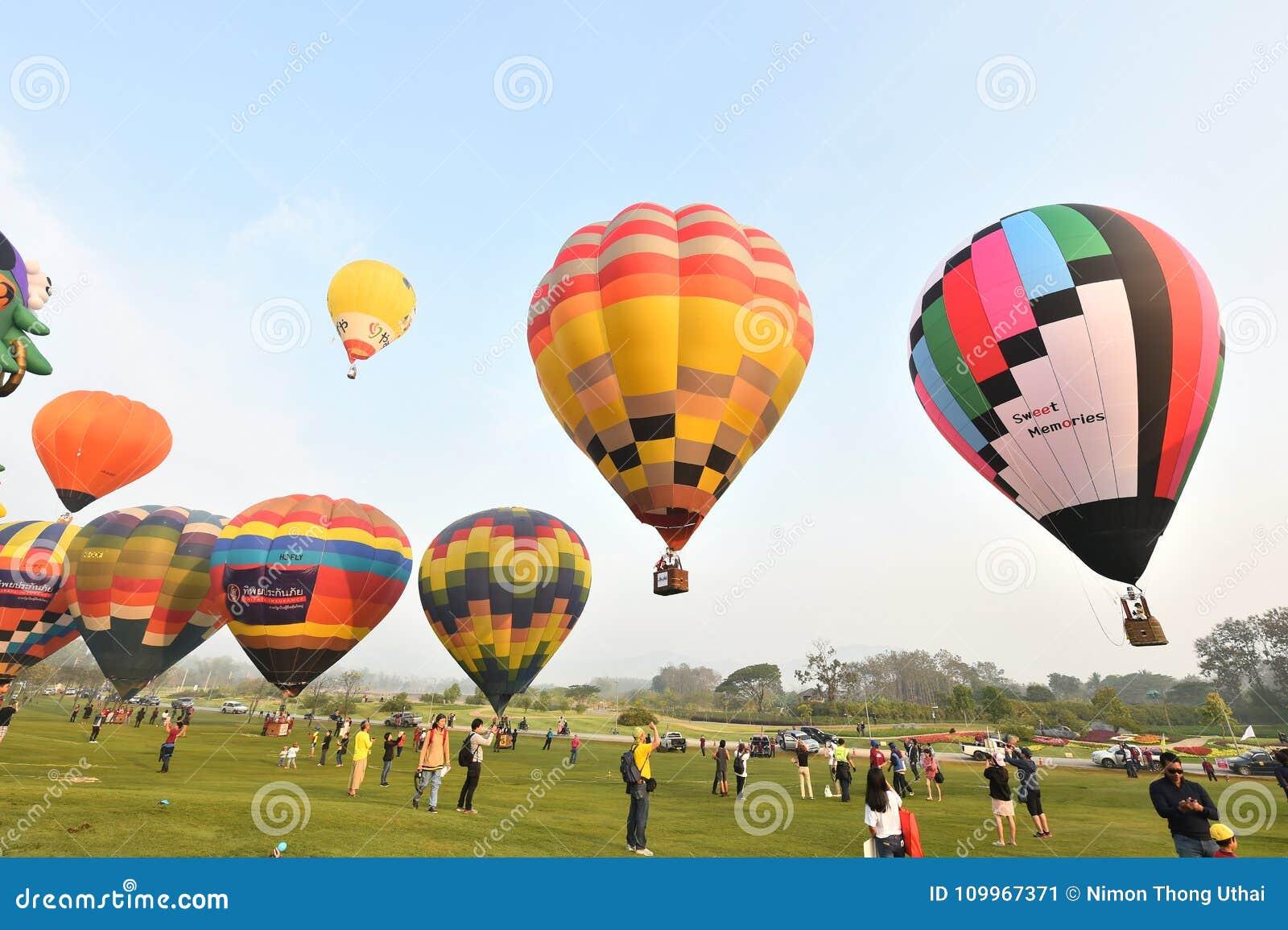 singha park international balloon fiesta editorial photo image of