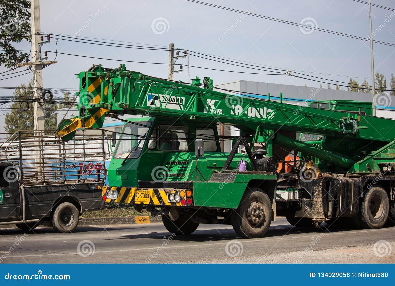 TADANO Crane Truck Of PPS Concrete Editorial Stock Photo