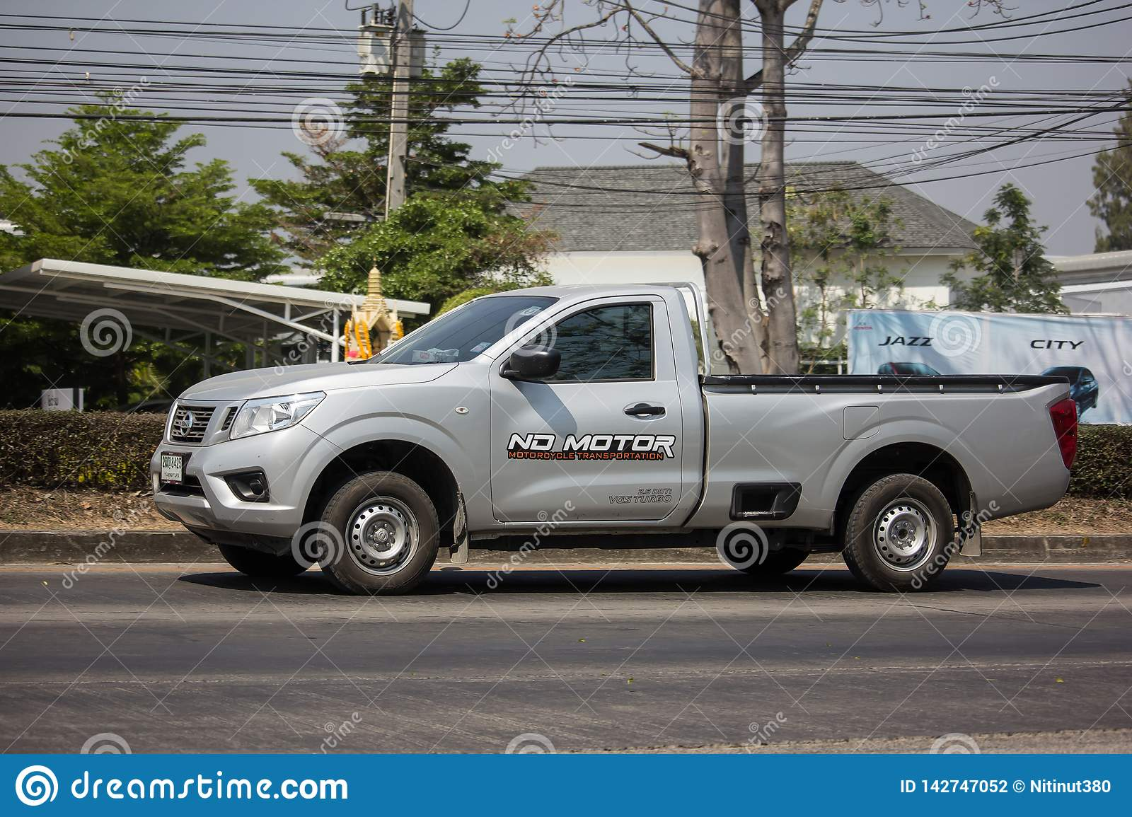Private Pickup Car Nissan Navara Editorial Photography