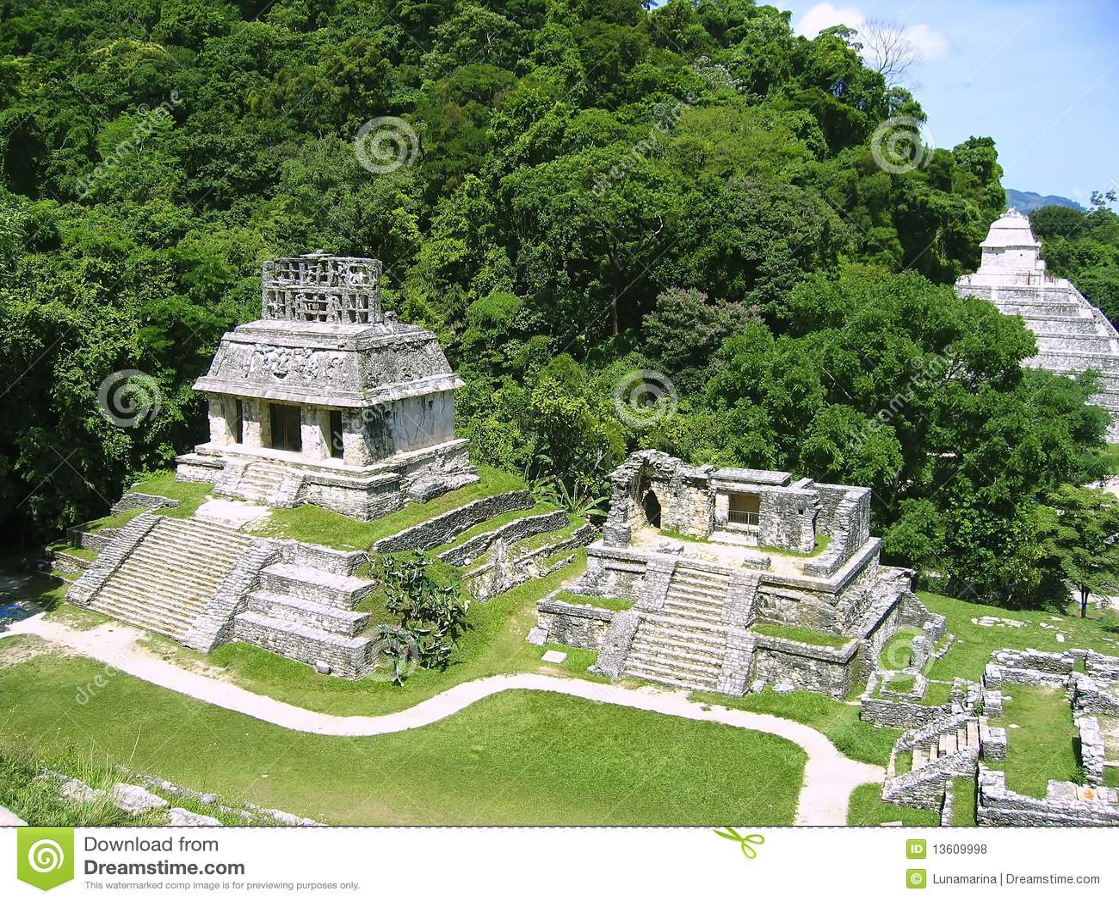 Chiapas majowia majskie Mexico palenque ruiny